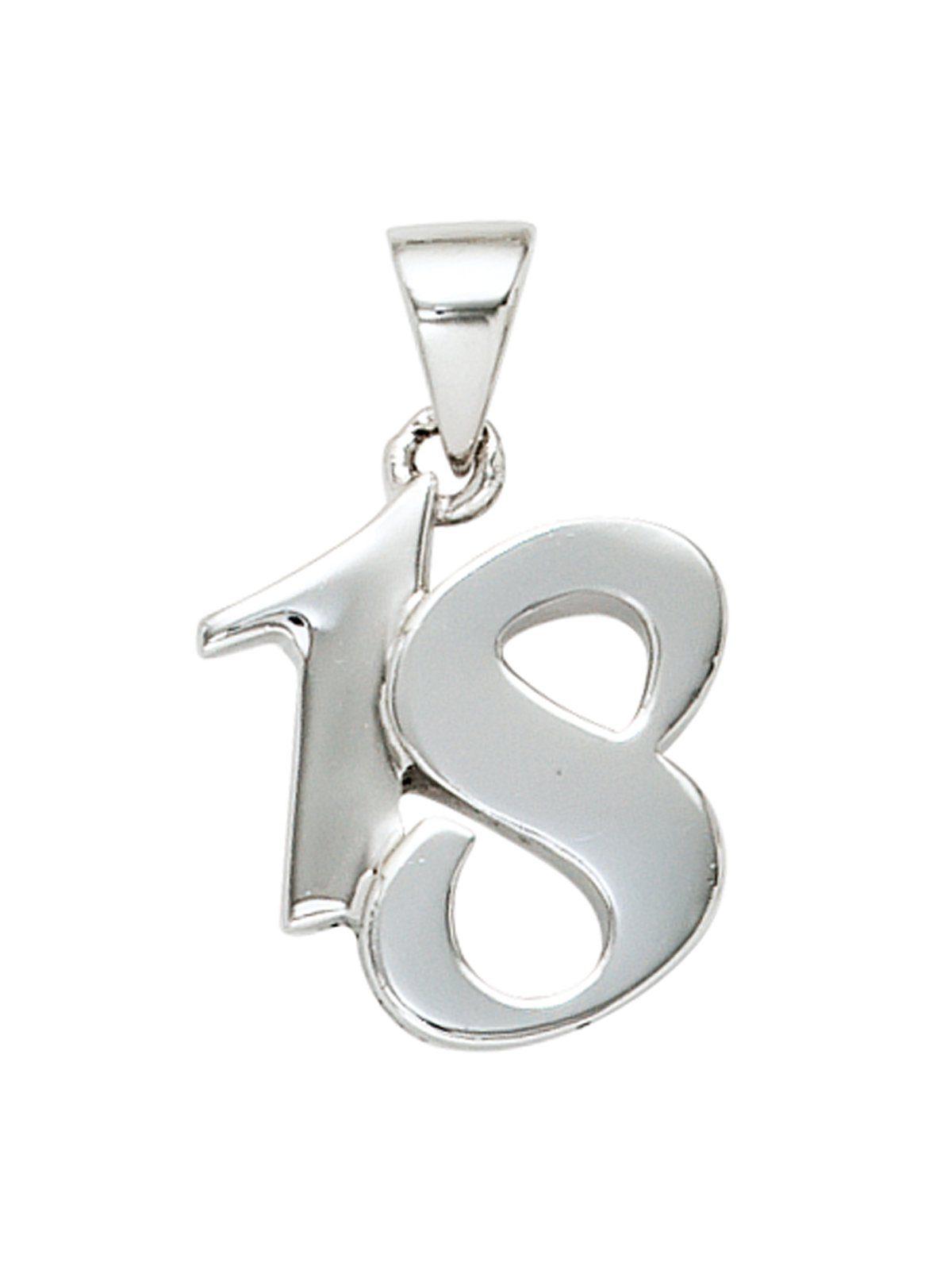 Adelia´s Kettenanhänger »18 Anhänger« 925 Silber