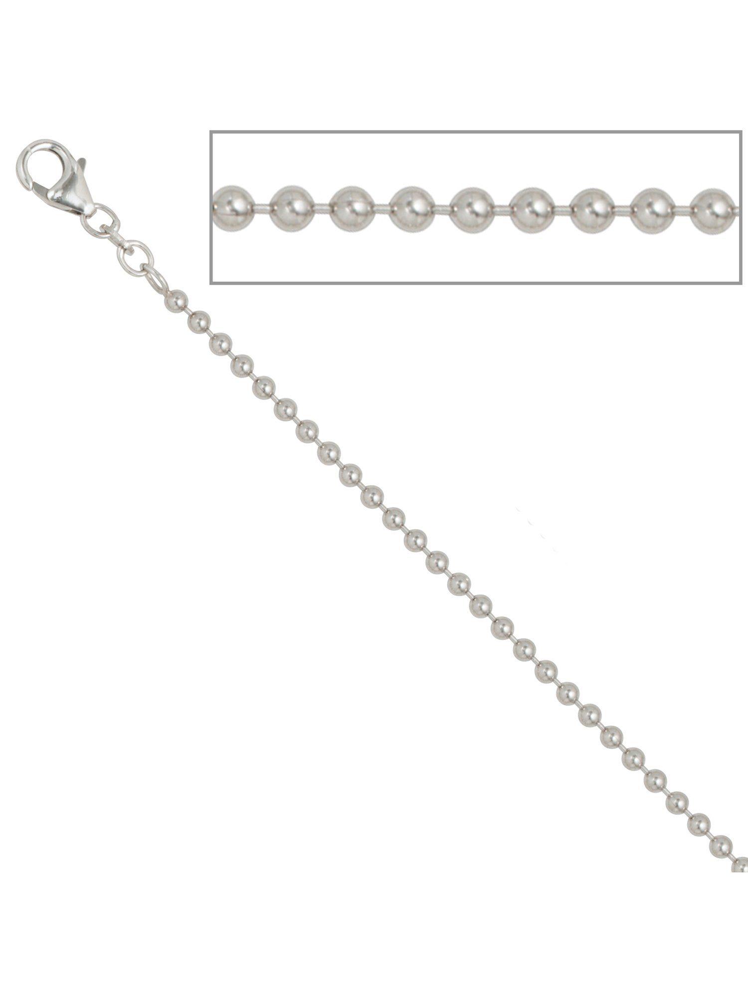 Adelia´s Kette ohne Anhänger »Kugelkette« 925 Silber L - 90 cm