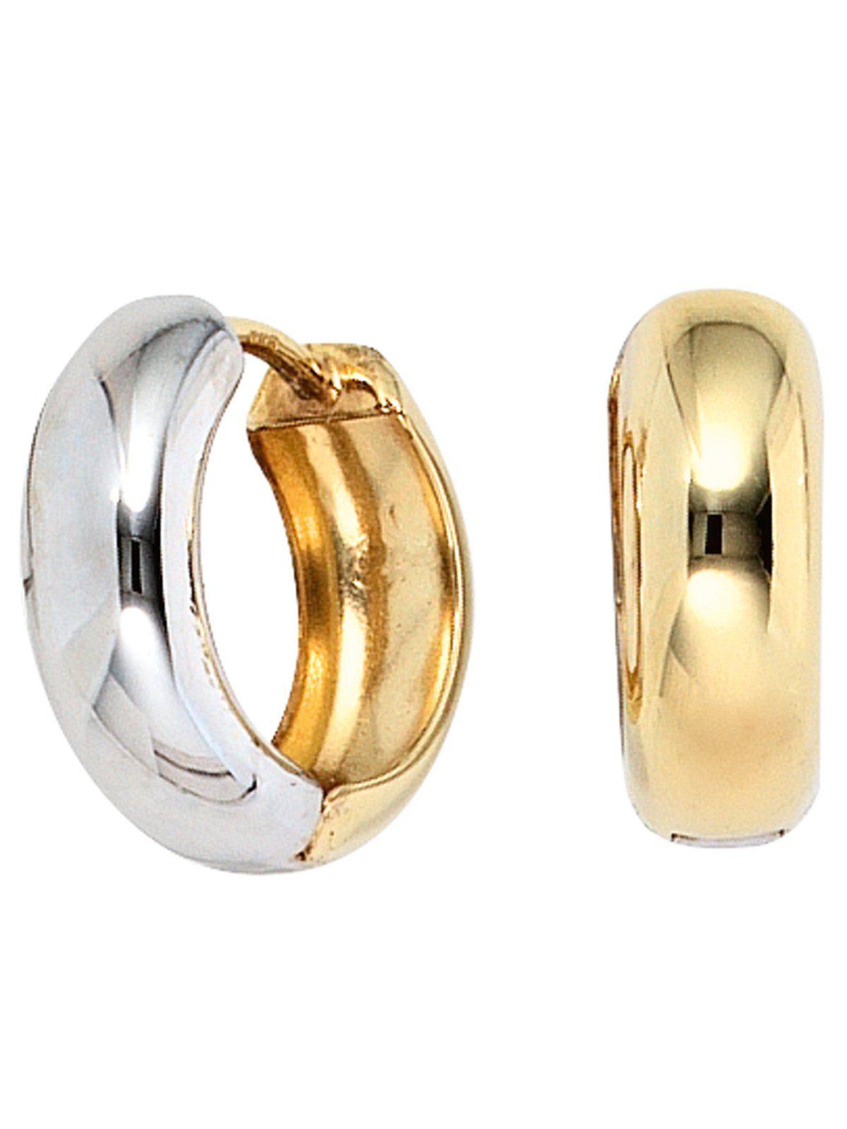 Adelia´s Paar Creolen, 333 Gold Ø 14,60 mm