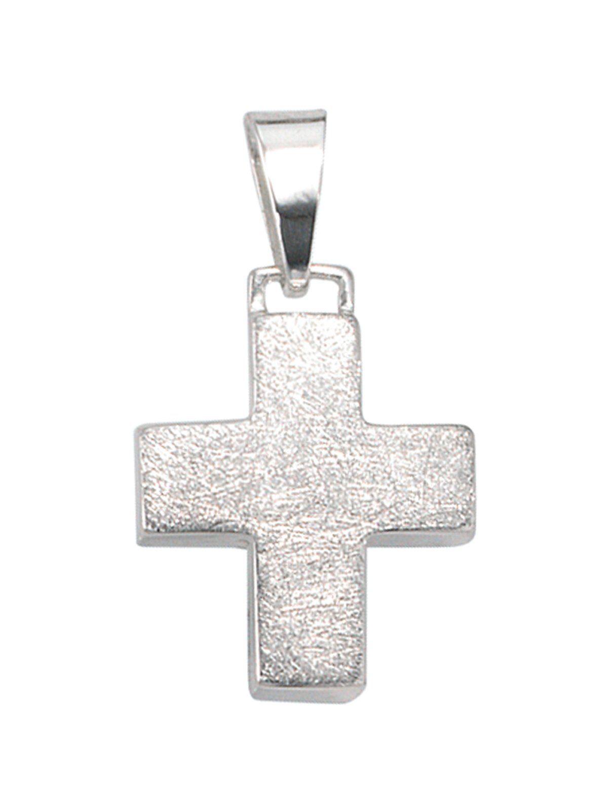 Adelia´s Kettenanhänger »Kreuz Anhänger« 925 Silber