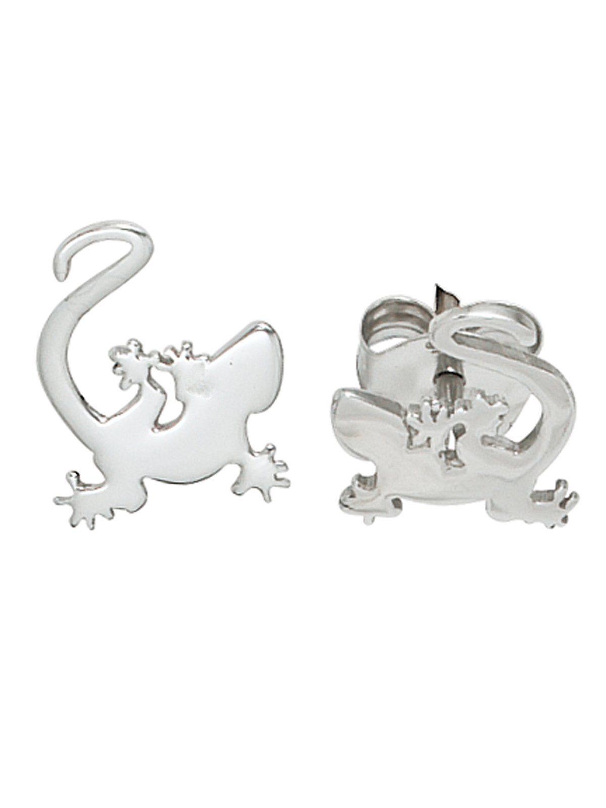 Adelia´s Paar Ohrstecker »Gecko« 925 Silber