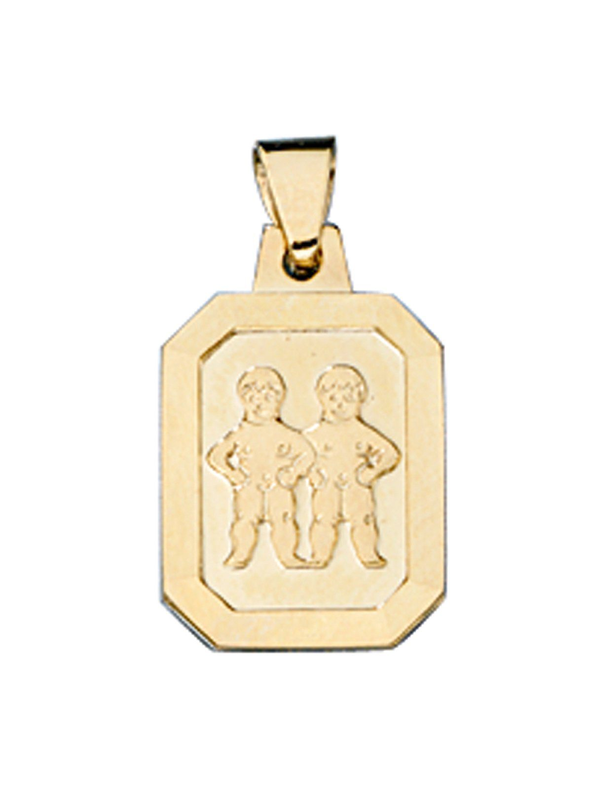 Adelia´s Kettenanhänger »Sternzeichen Zwilling Anhänger« 333 Gold