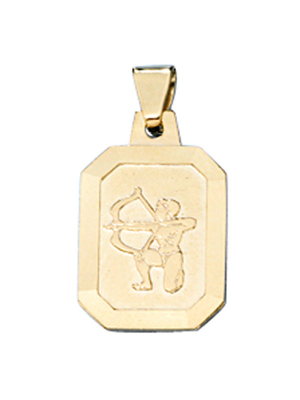 Adelia´s Kettenanhänger »Sternzeichen Schütze Anhänger« 333 Gold | Schmuck > Halsketten > Ketten ohne Anhänger | Adelia´s