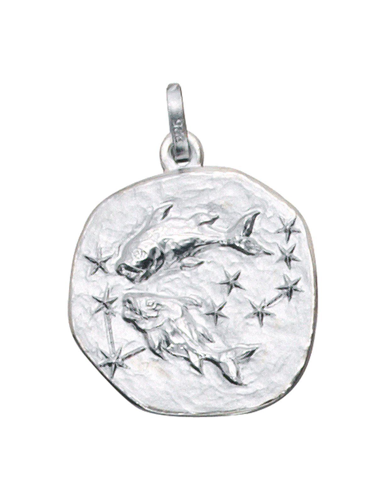 Adelia´s Kettenanhänger »Sternzeichen Fische Anhänger« 925 Silber
