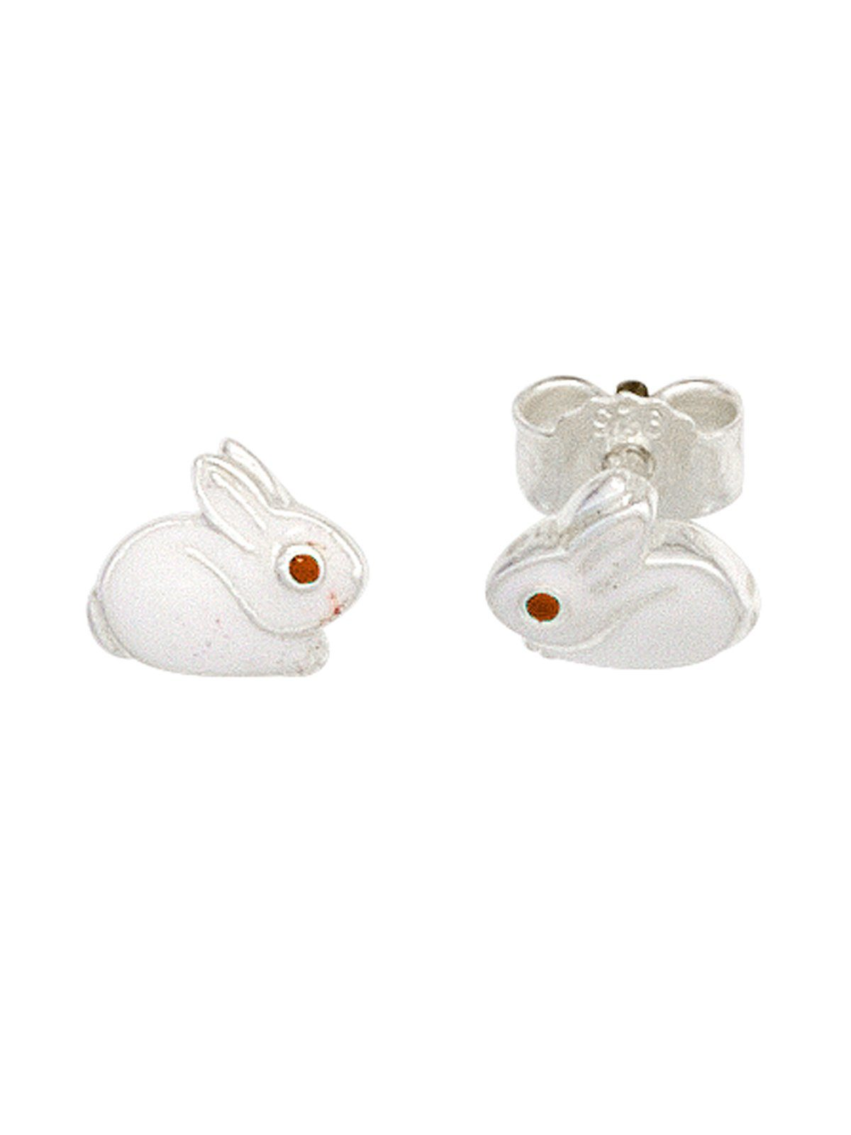 Adelia´s Paar Ohrstecker »Hase« 925 Silber