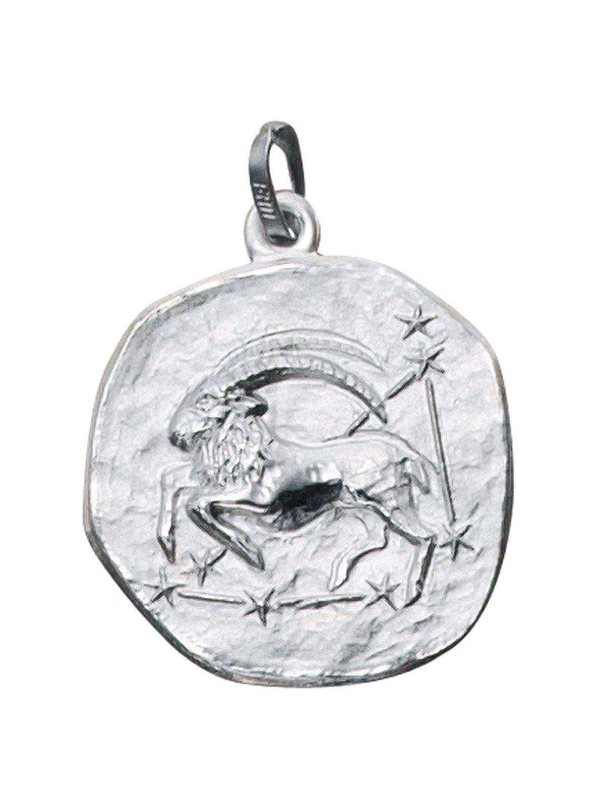 Adelia´s Kettenanhänger »Sternzeichen Steinbock Anhänger« 925 Silber
