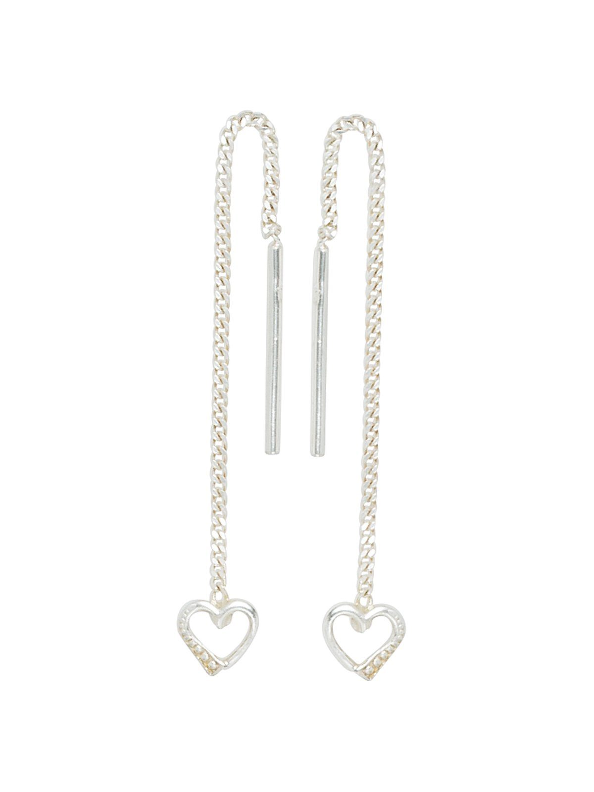 Adelia´s Paar Ohrhänger »Herz« 925 Silber