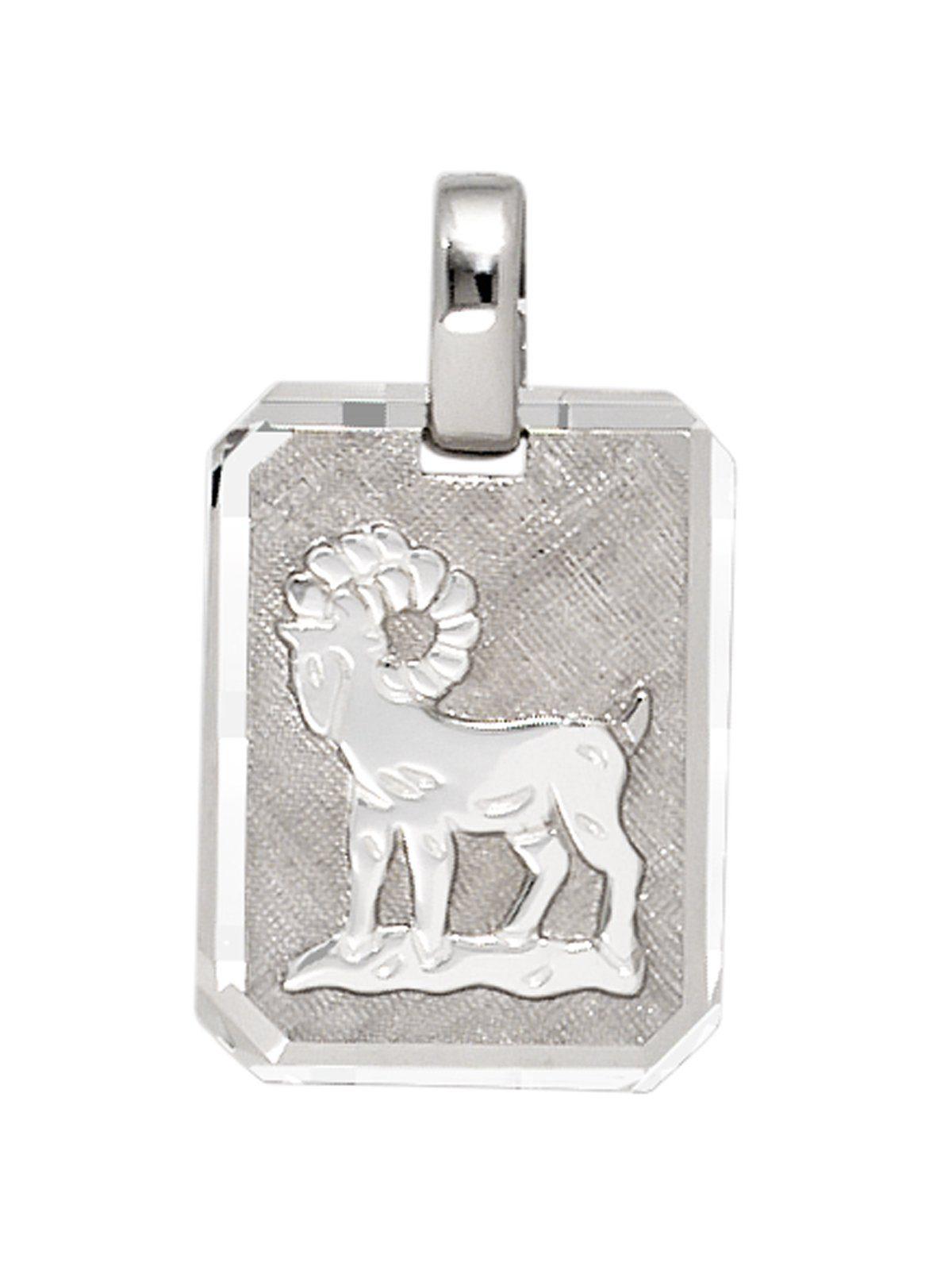 Adelia´s Sternzeichenanhänger »Sternzeichen Widder Anhänger« 925 Silber