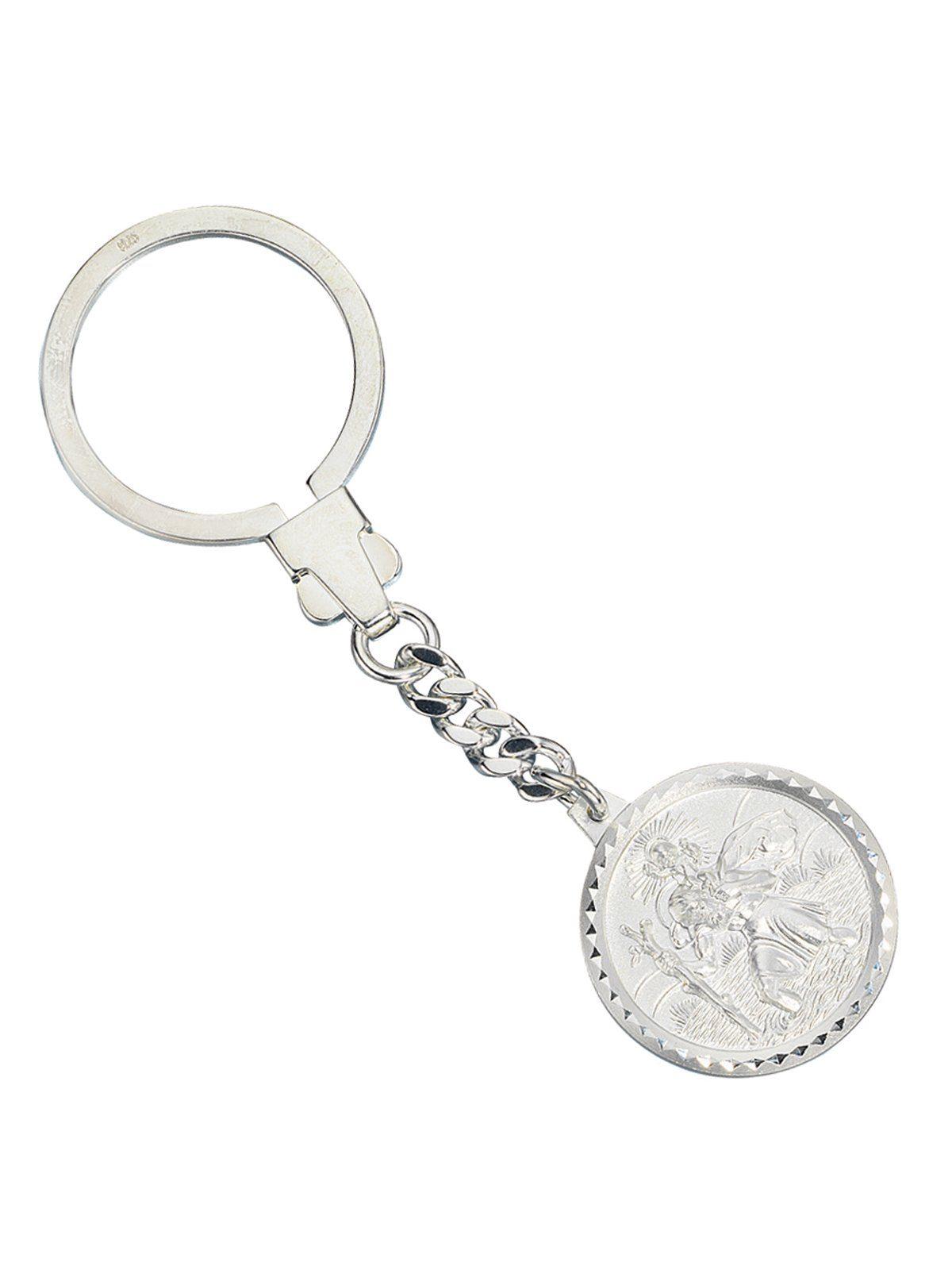 Adelia´s Kettenanhänger »Christopherus Anhänger« 925 Silber Ø 27,00 mm