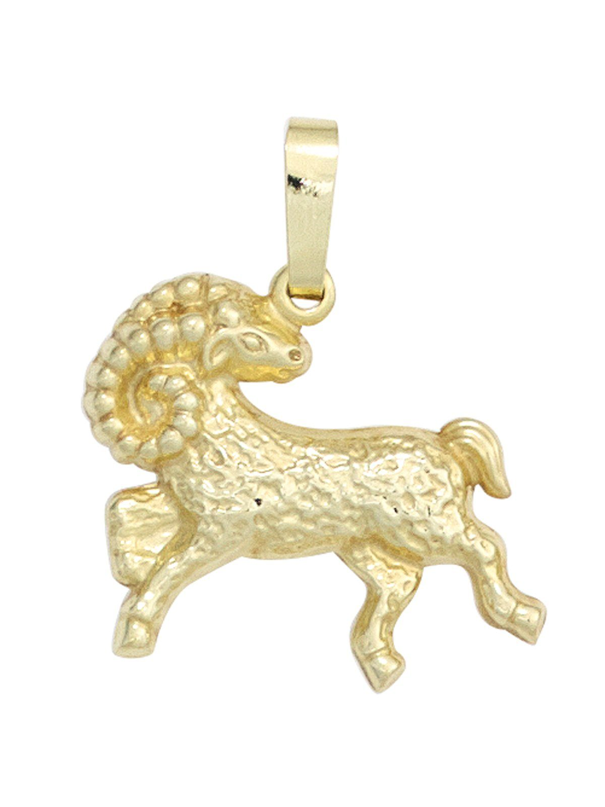 Adelia´s Sternzeichenanhänger »Sternzeichen Widder Anhänger« 333 Gold