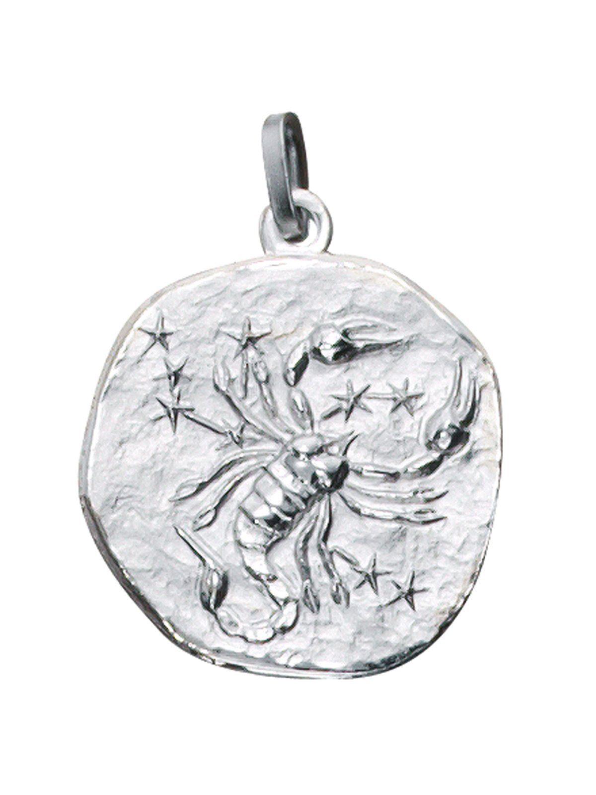 Adelia´s Kettenanhänger »Sternzeichen Skorpion Anhänger« 925 Silber