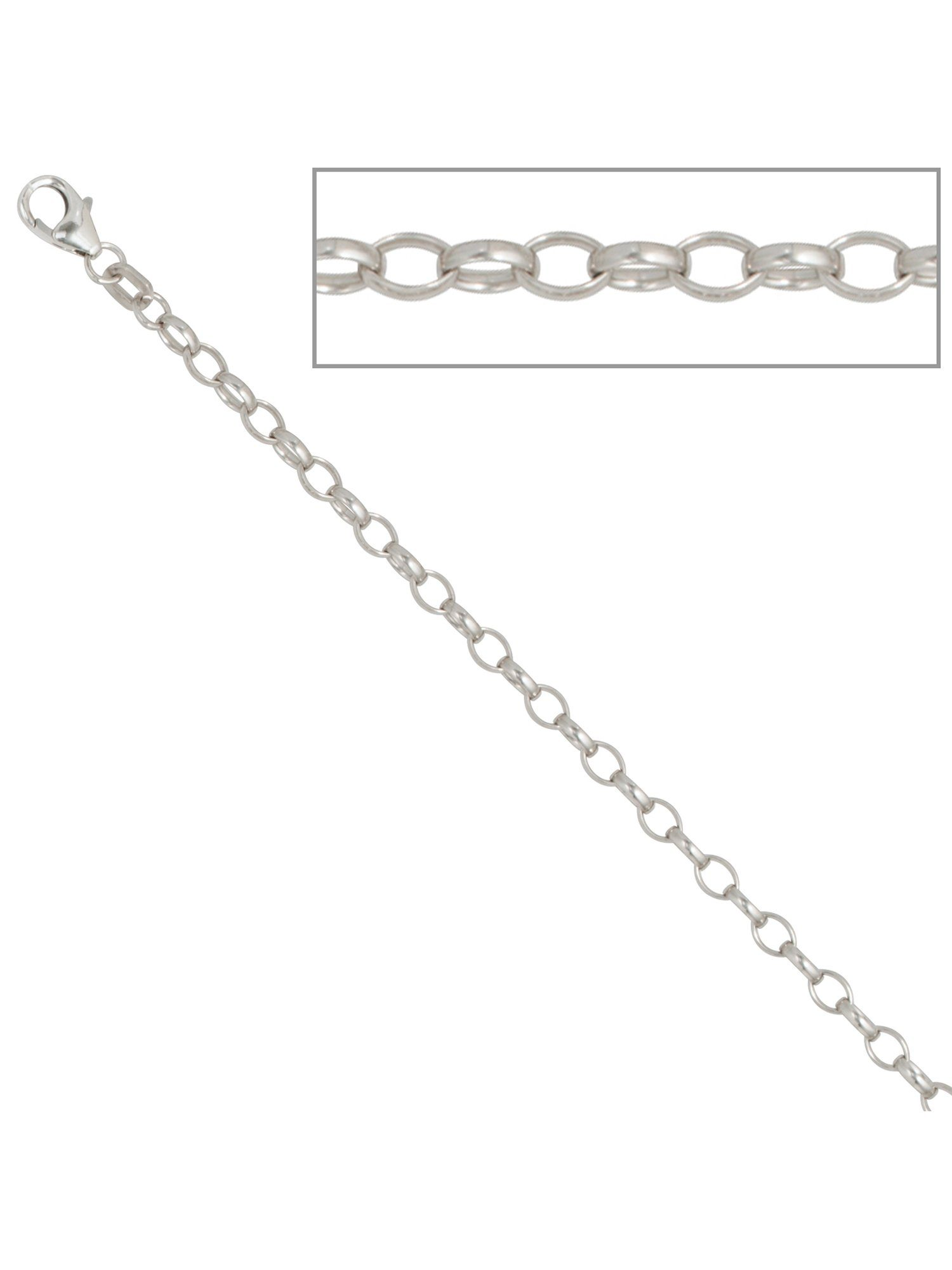 Adelia´s Kette ohne Anhänger »Ankerkette« 925 Silber L - 60 cm