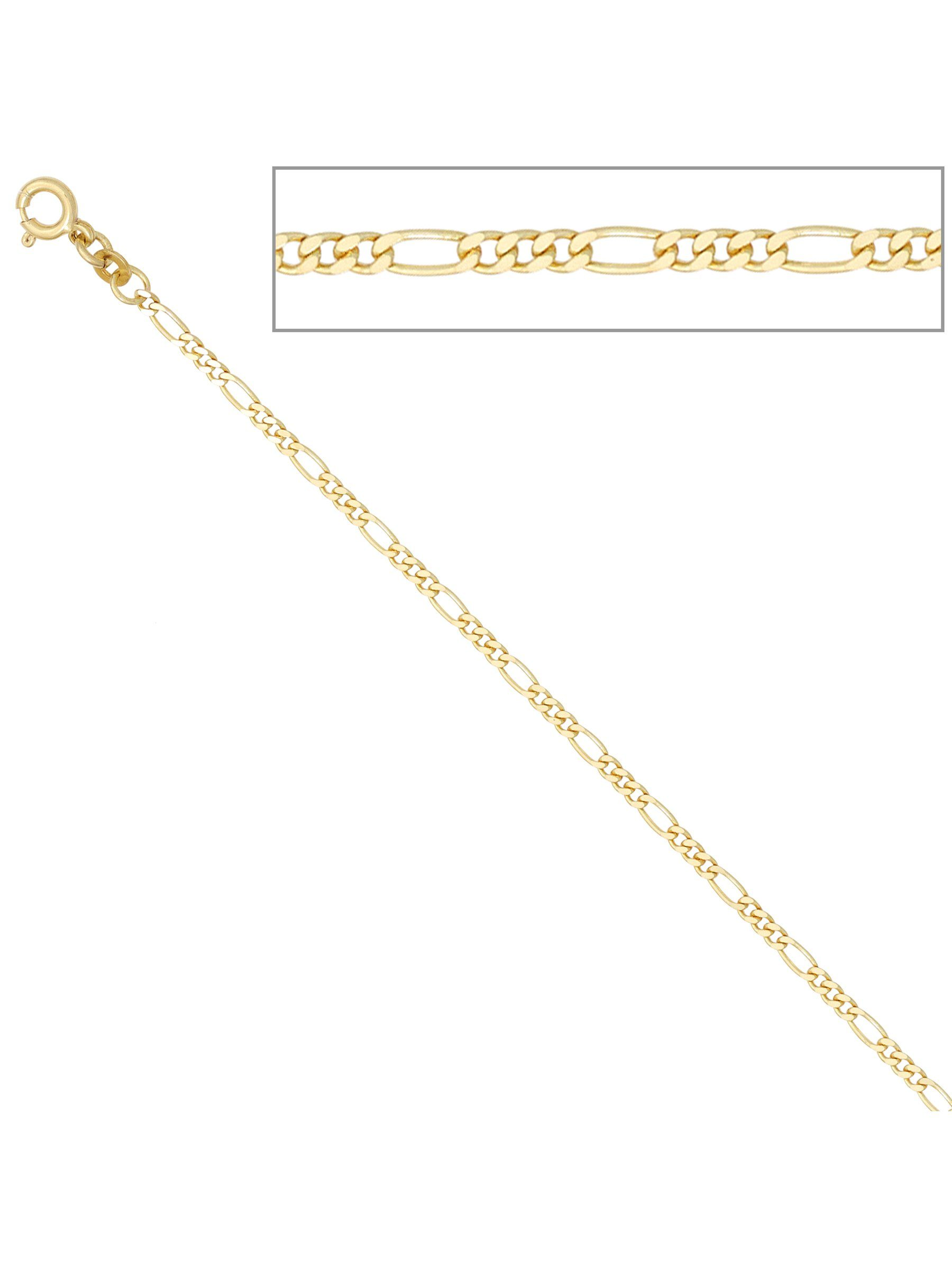 Adelia´s Kette ohne Anhänger »Figarokette«, 333 Gold