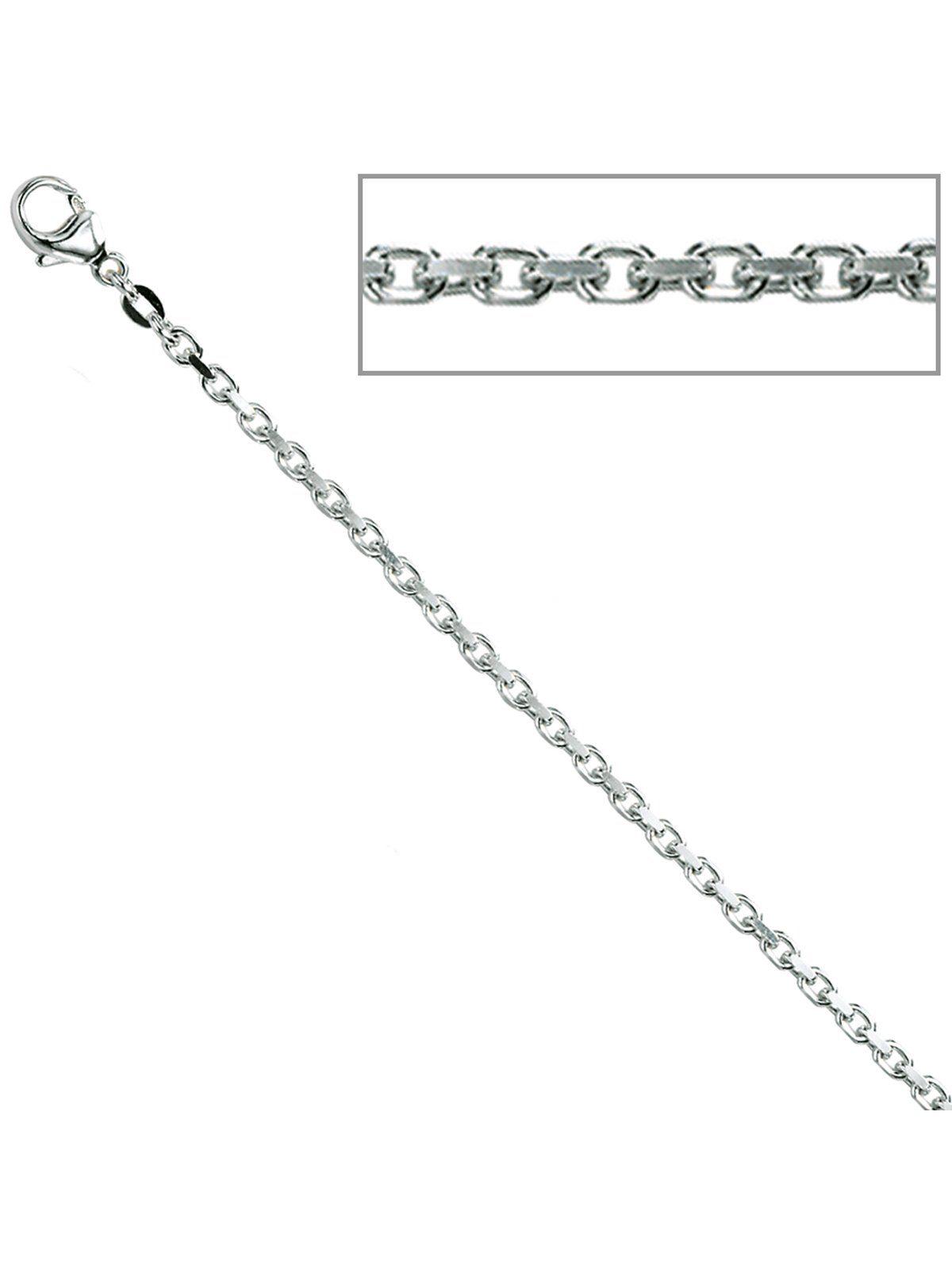 Adelia´s Kette ohne Anhänger »Ankerkette« 925 Silber L - 50 cm