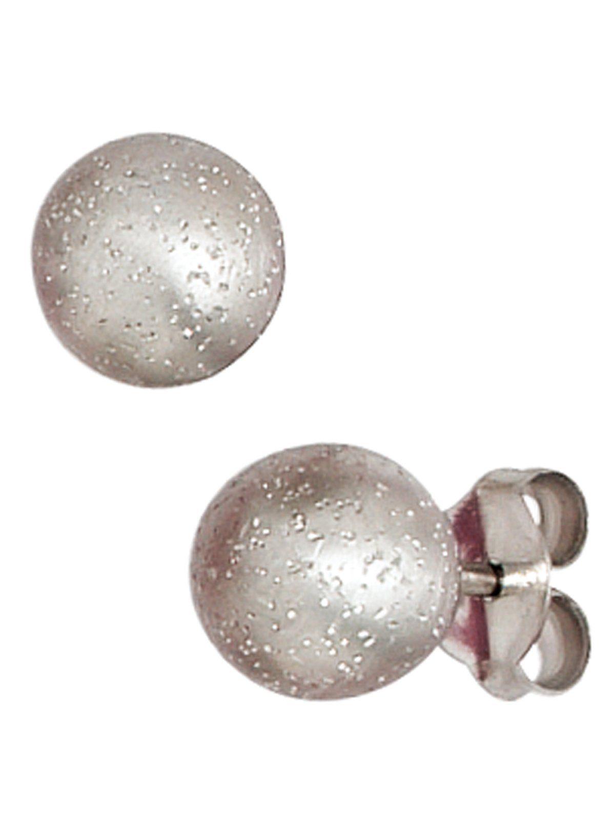 Adelia´s Paar Ohrhänger 925 Silber Ø 6,30 mm
