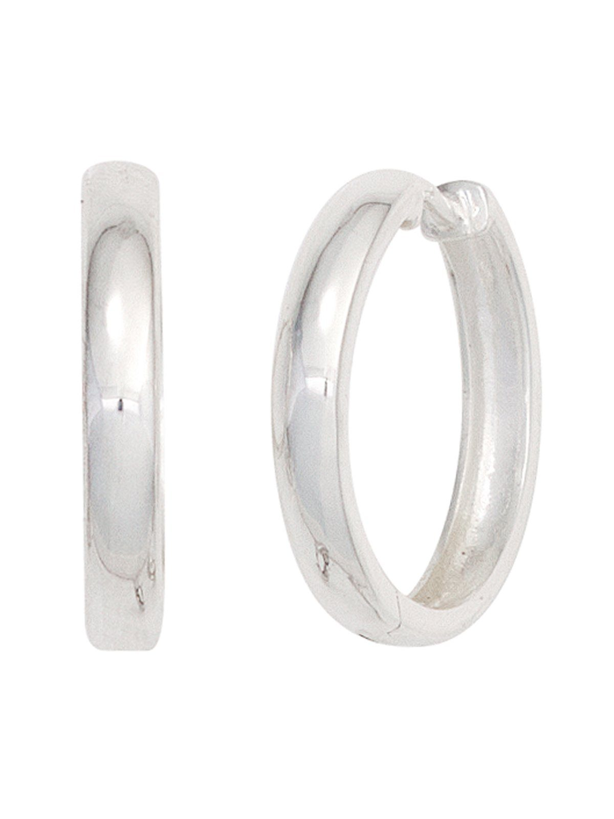 Adelia´s Paar Creolen 925 Silber Ø 18,70 mm