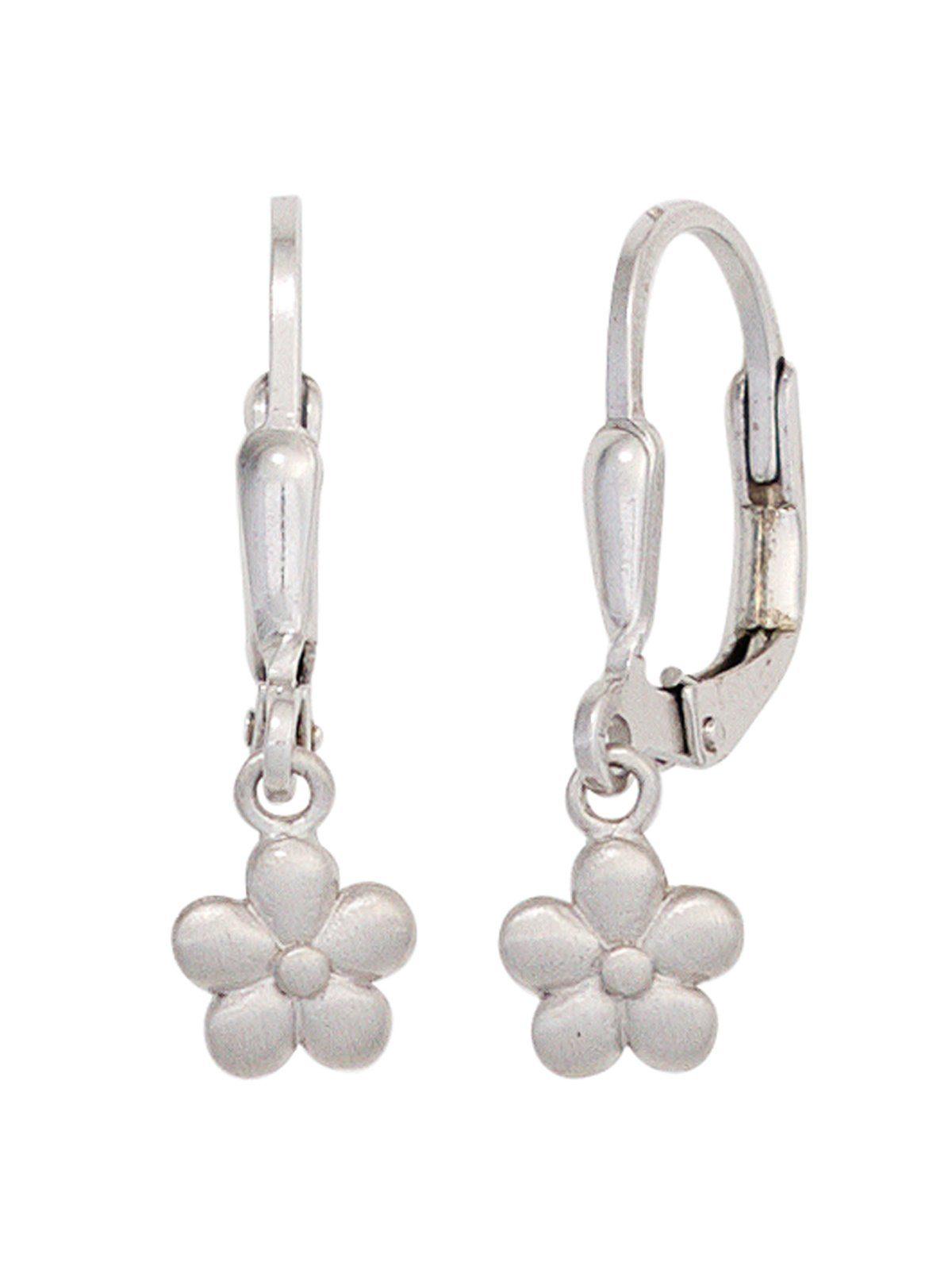 Adelia´s Paar Ohrhänger »Blume« 925 Silber