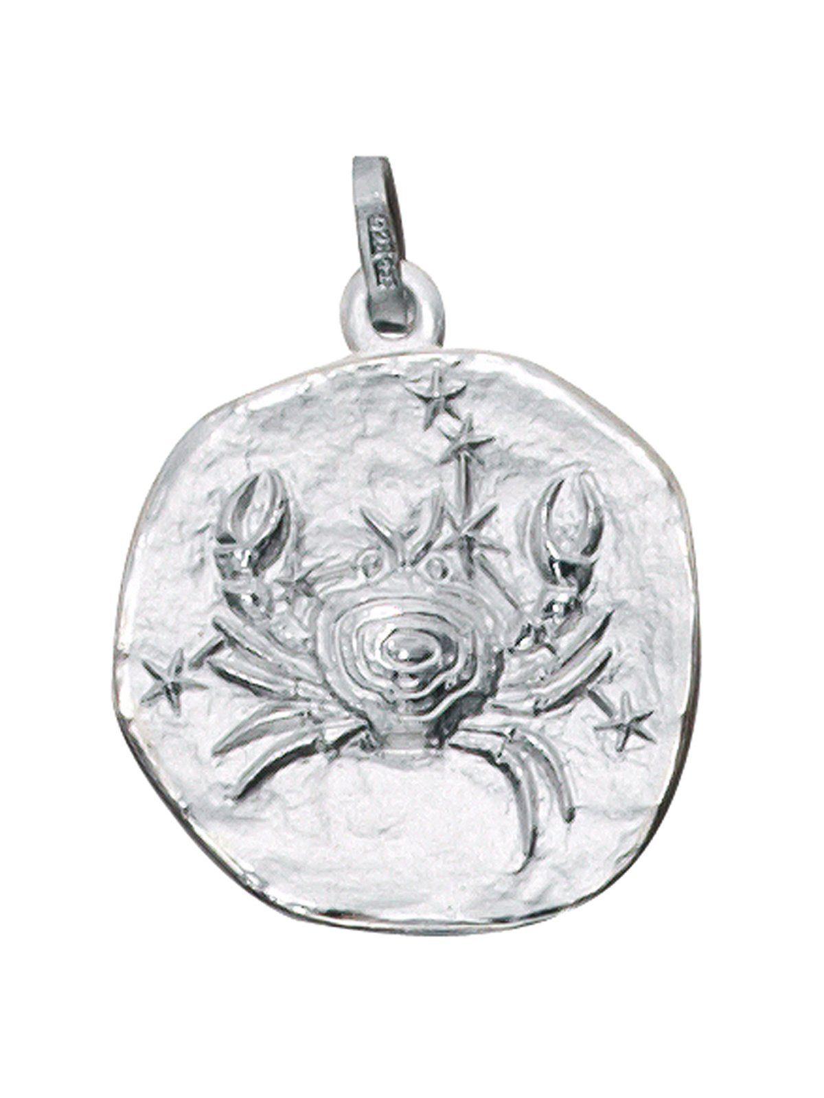 Adelia´s Kettenanhänger »Sternzeichen Krebs Anhänger« 925 Silber