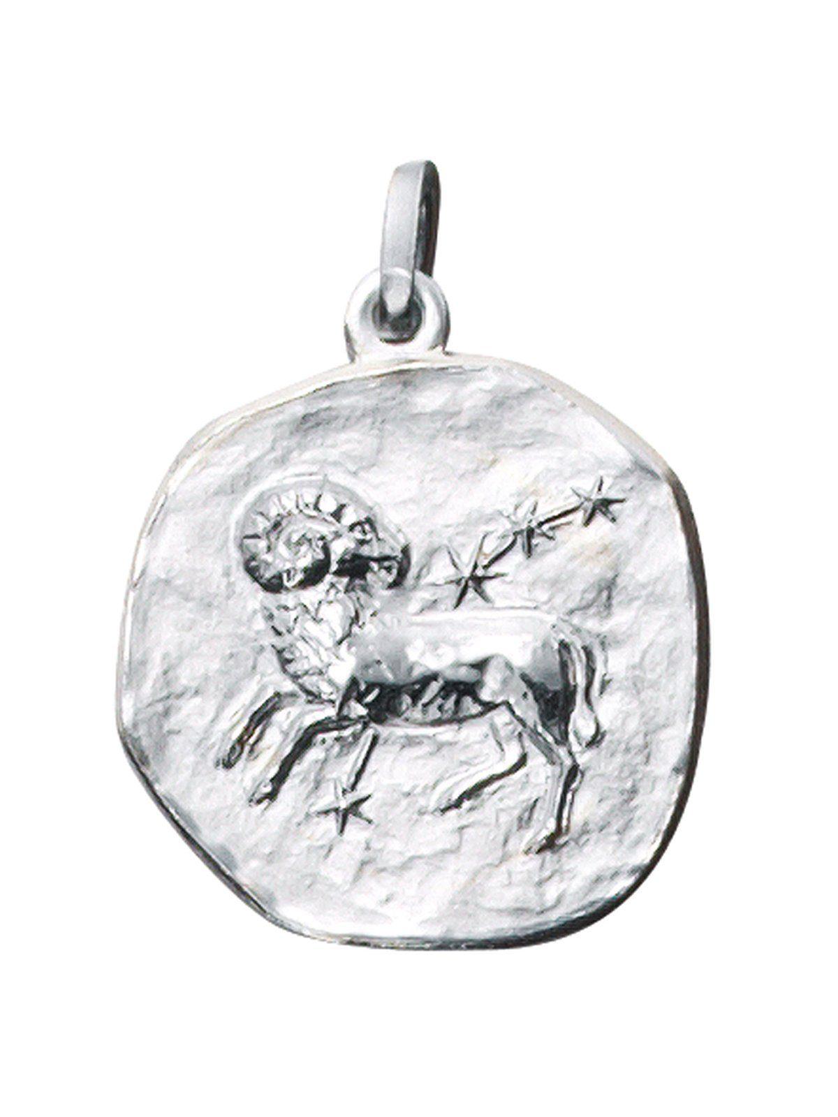 Adelia´s Kettenanhänger »Sternzeichen Widder Anhänger« 925 Silber