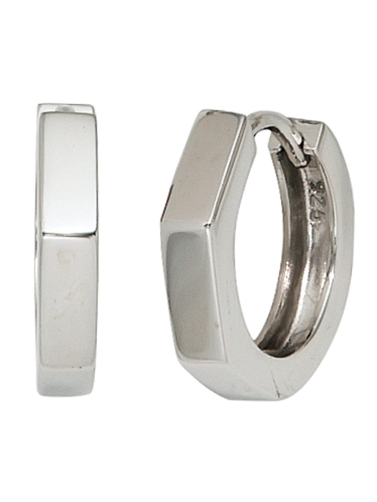 Adelia´s Paar Creolen 925 Silber Ø 15,20 mm