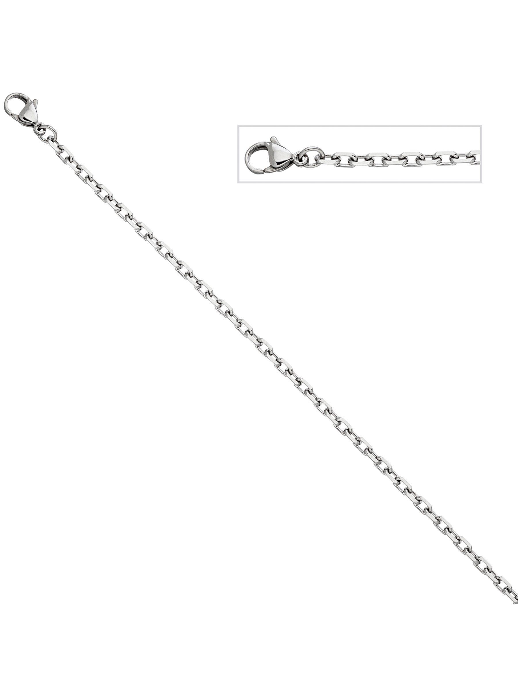 Adelia´s Kette ohne Anhänger »Ankerkette« Edelstahl L - 55 cm | Schmuck > Halsketten > Ketten ohne Anhänger | Adelia´s