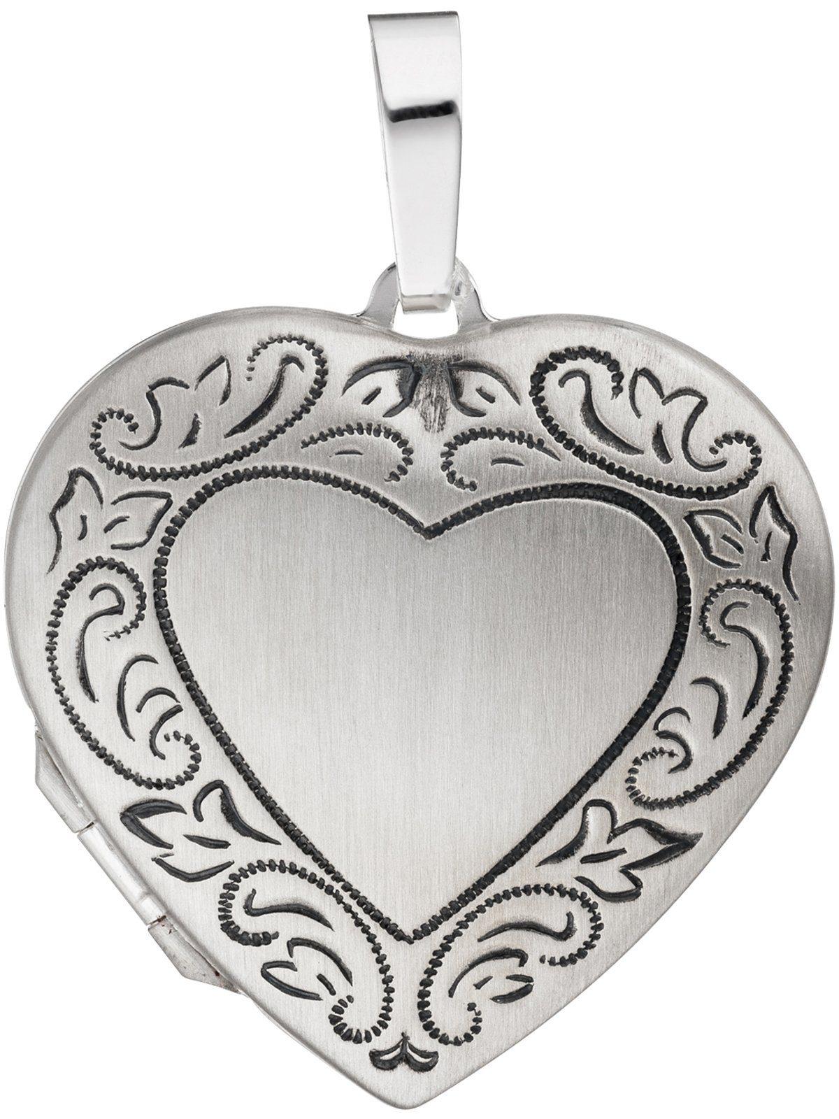 Adelia´s Kettenanhänger »Medaillon Anhänger«, 925 Silber