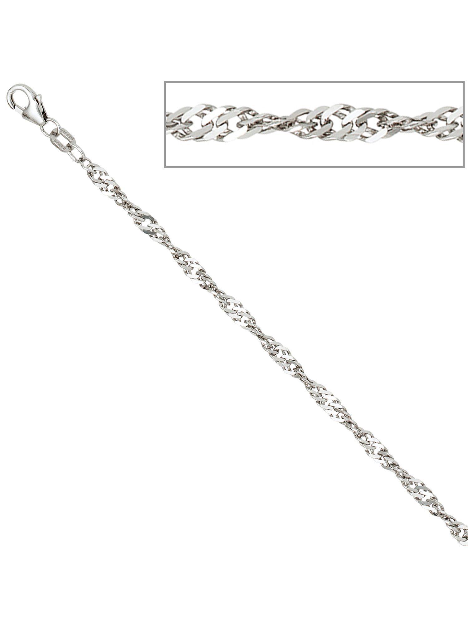 Adelia´s Kette ohne Anhänger »Singapurkette«, 925 Silber