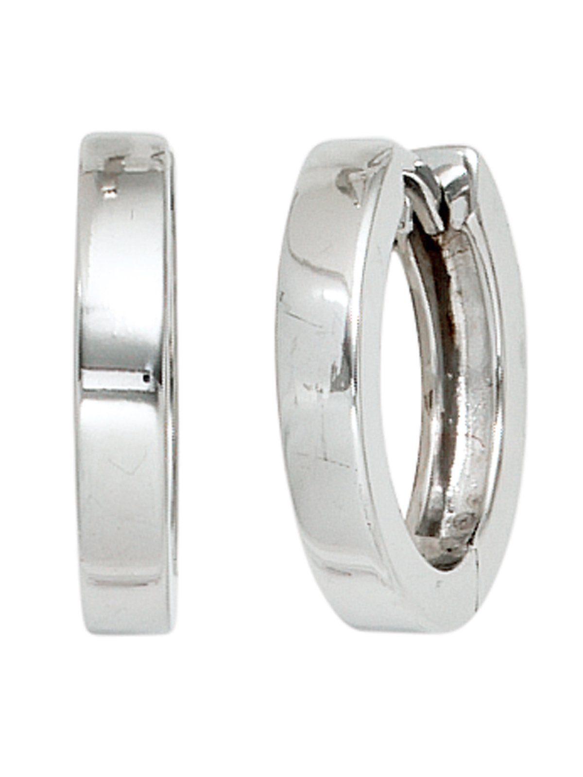 Adelia´s Paar Creolen, 925 Silber Ø 15,00 mm