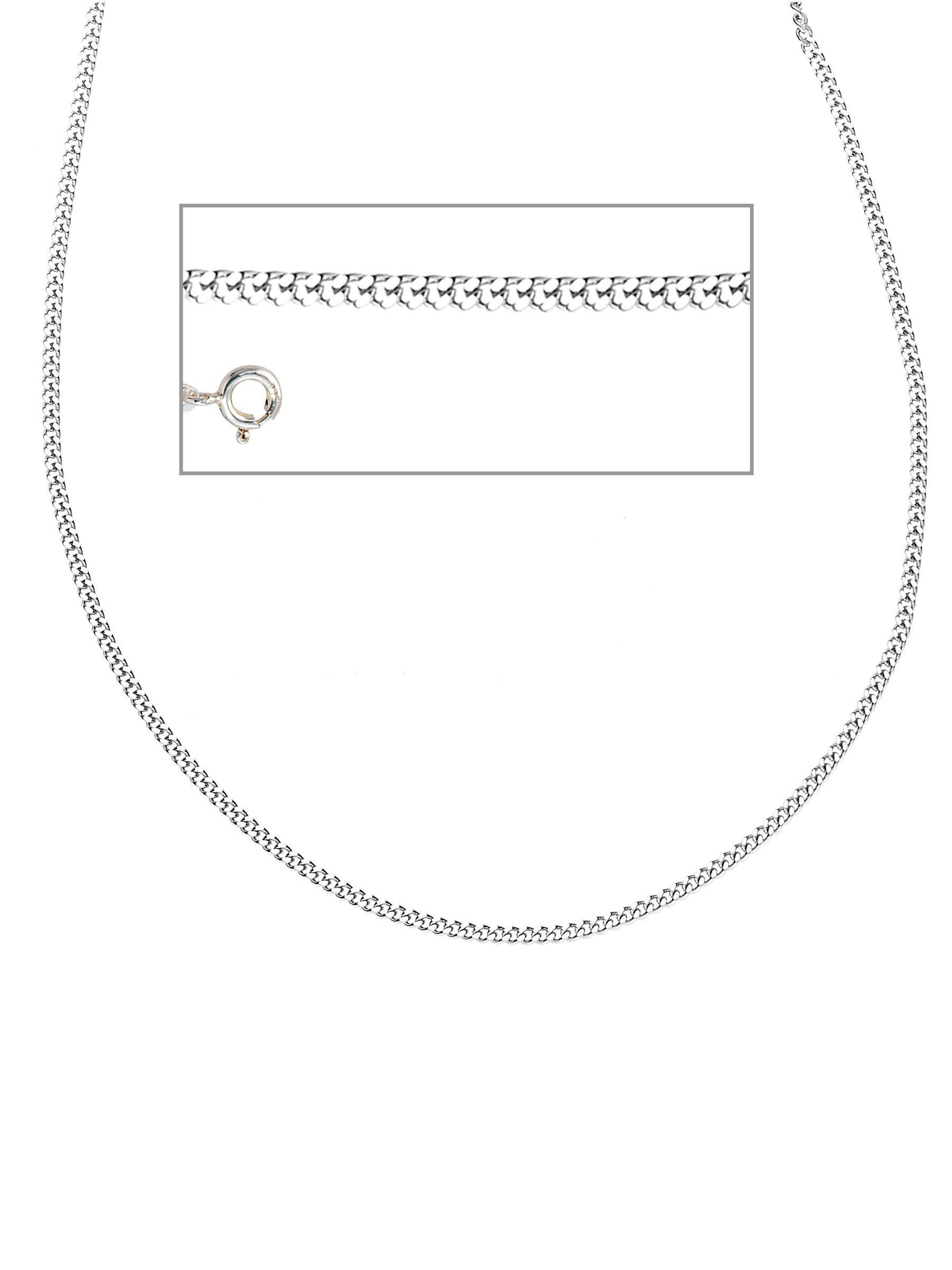 Adelia´s Kette ohne Anhänger »Panzerkette« 925 Silber L - 80 cm