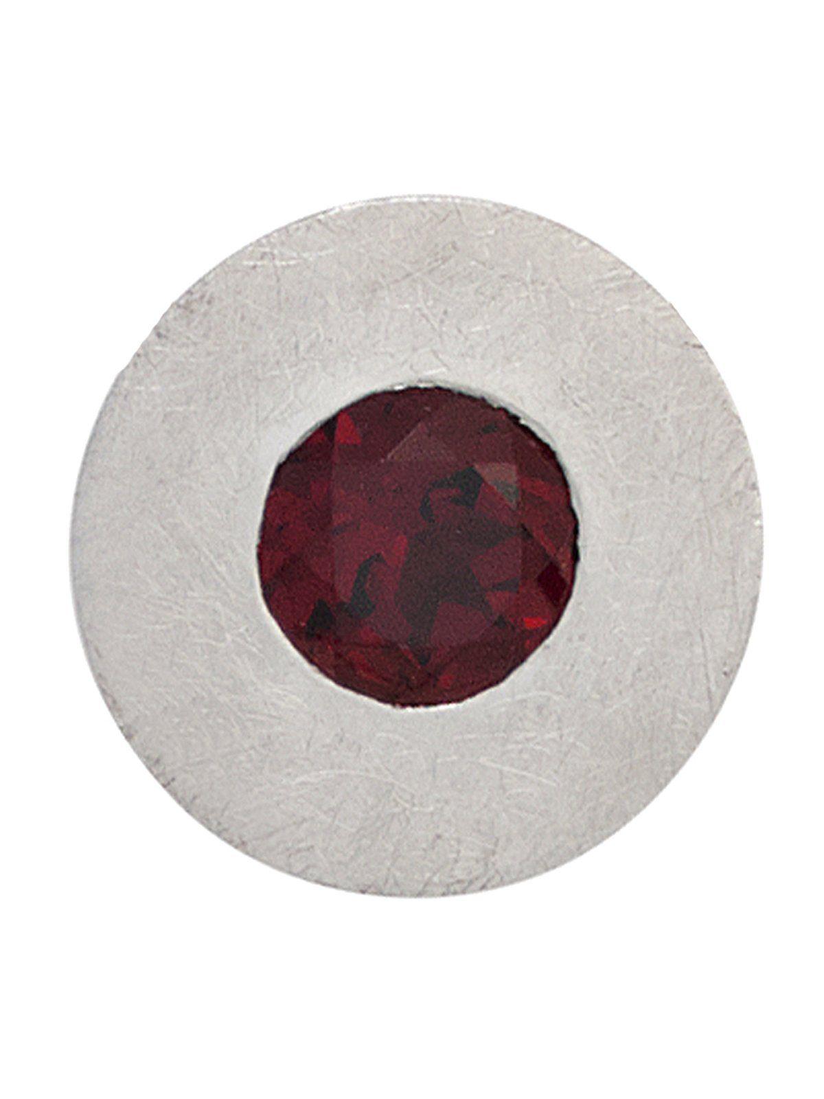 Adelia´s Kettenanhänger »Anhänger«, 925 Silber mit Granat