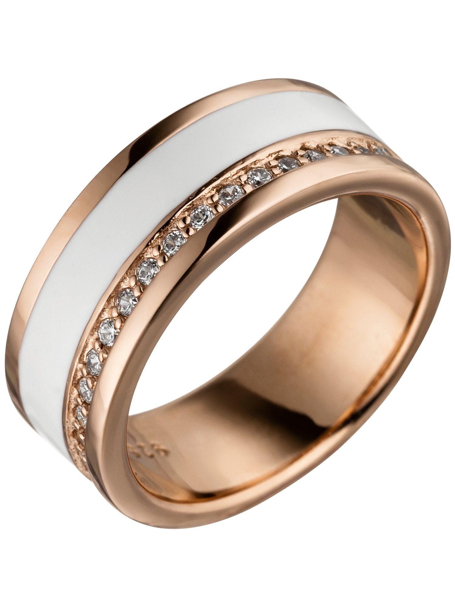 Adelia´s Silberring, 925 Silber mit Zirkonia