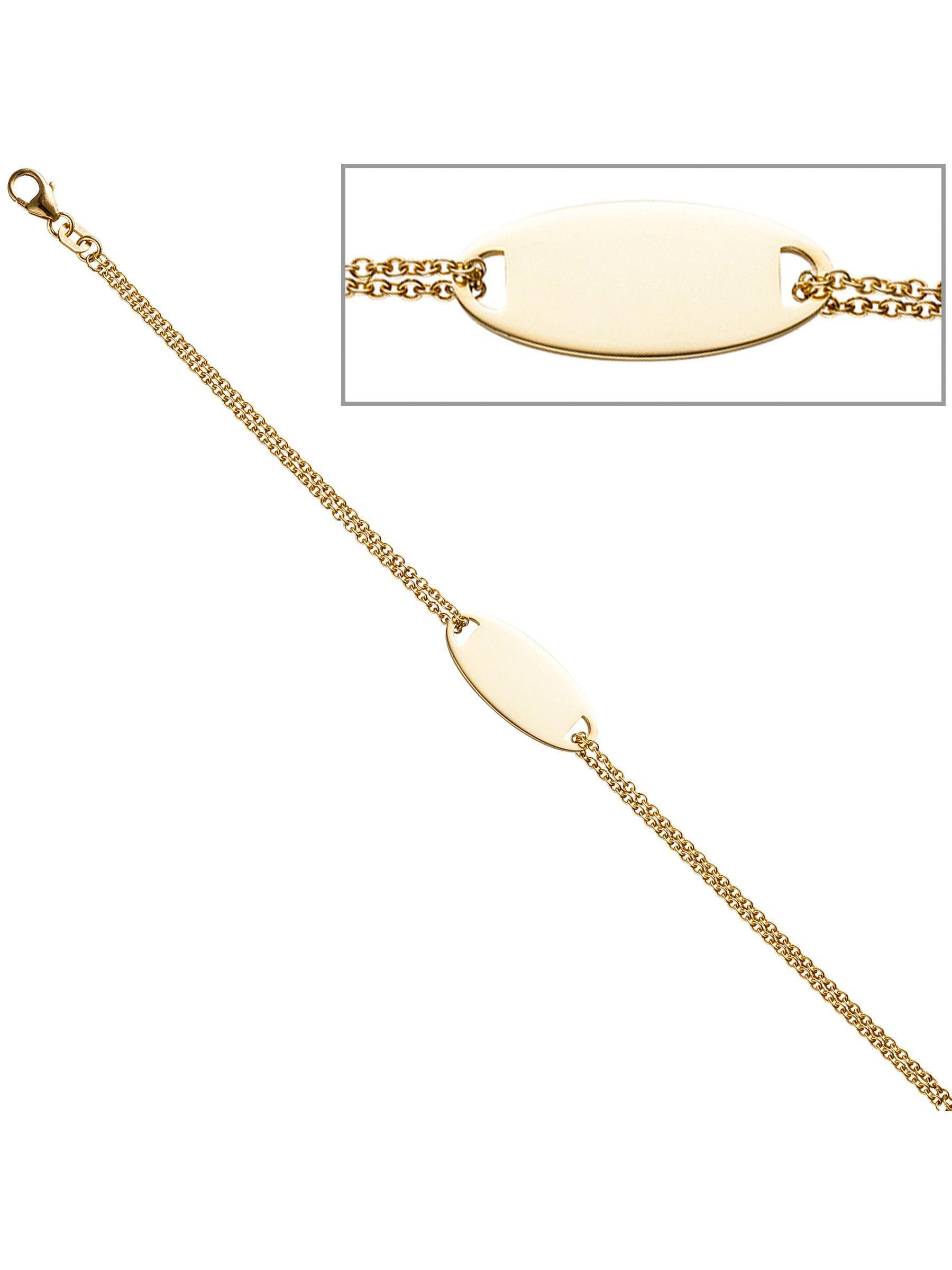 Adelia´s Armband 925 Silber L - 19 cm