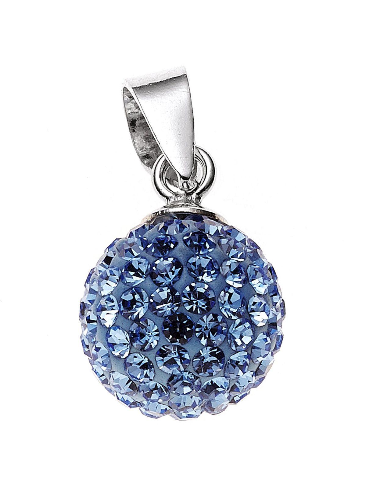 Adelia´s Kettenanhänger »Anhänger« 925 Silber mit Kristall Ø 10,00 mm