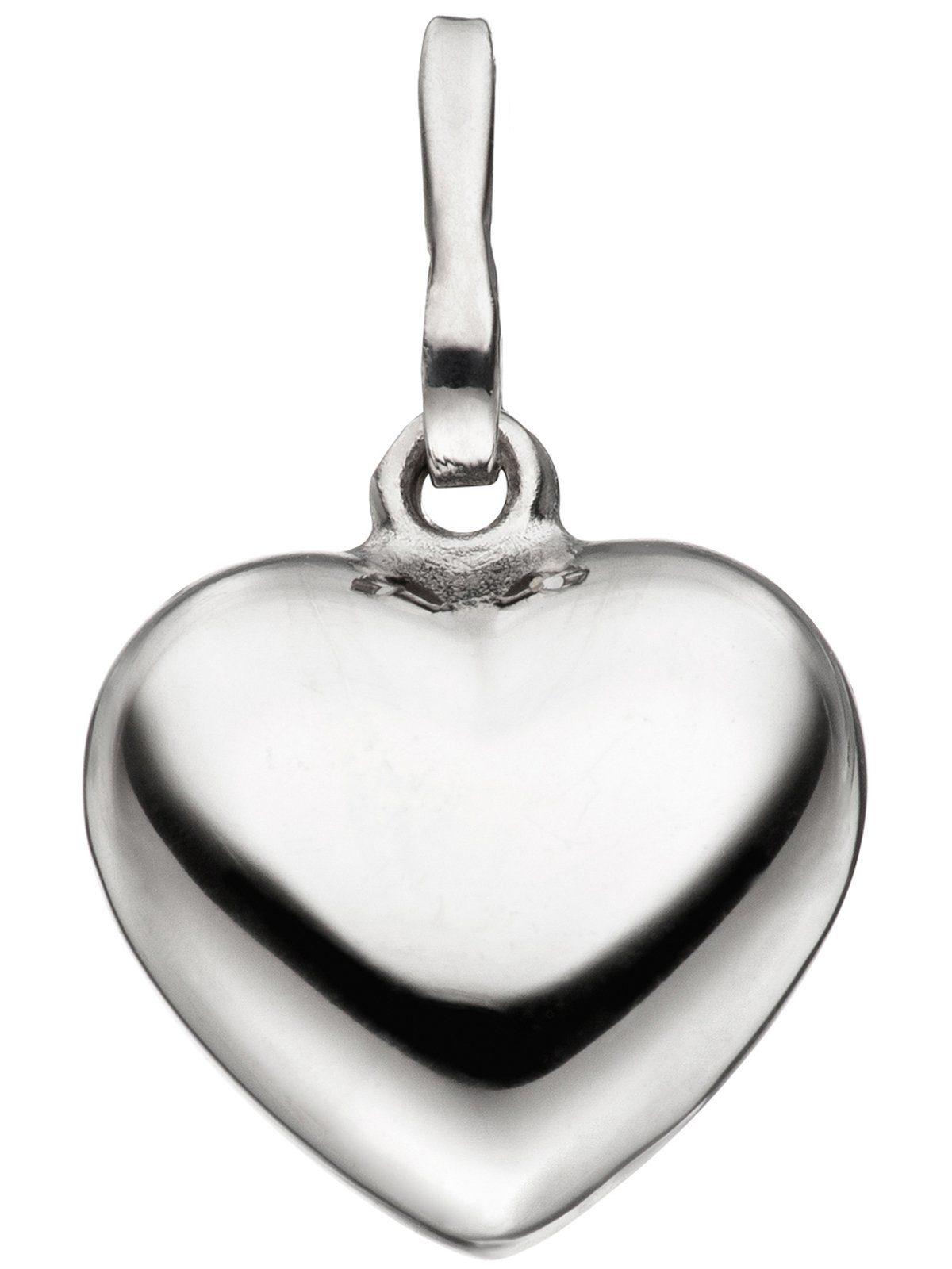 Adelia´s Kettenanhänger »Herz Anhänger«, 925 Silber