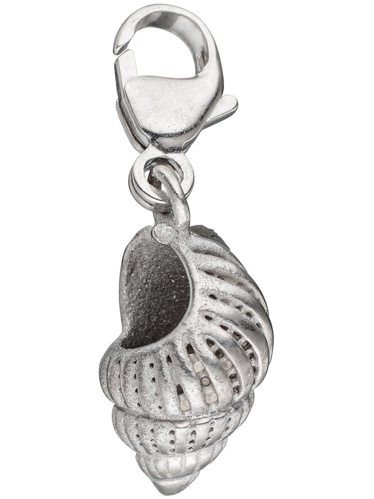 Adelia´s Kettenanhänger »Muschel Anhänger« 925 Silber mit Muschel