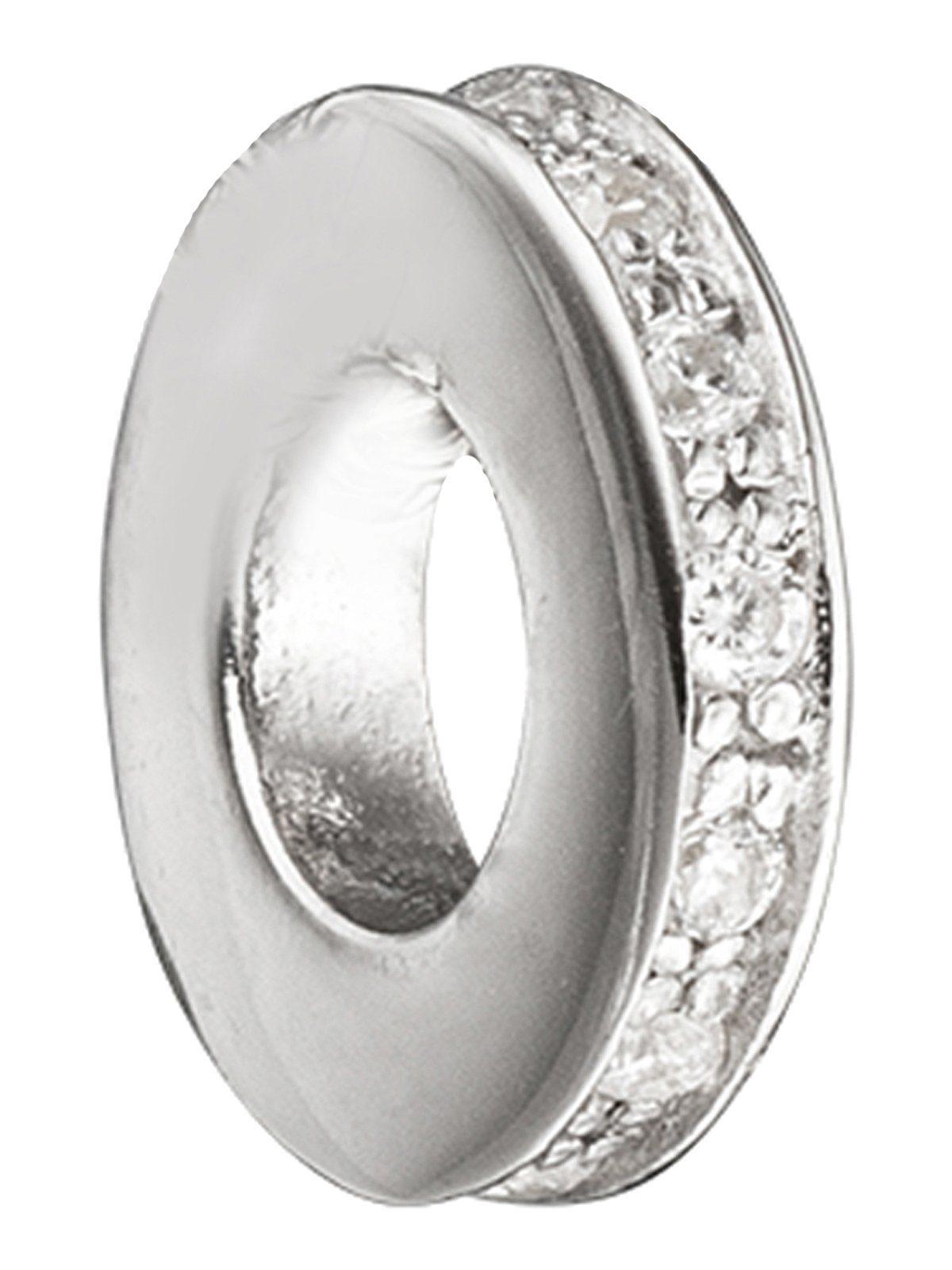 Adelia´s Kettenanhänger »Anhänger« 925 Silber mit Zirkonia Ø 9,70 mm