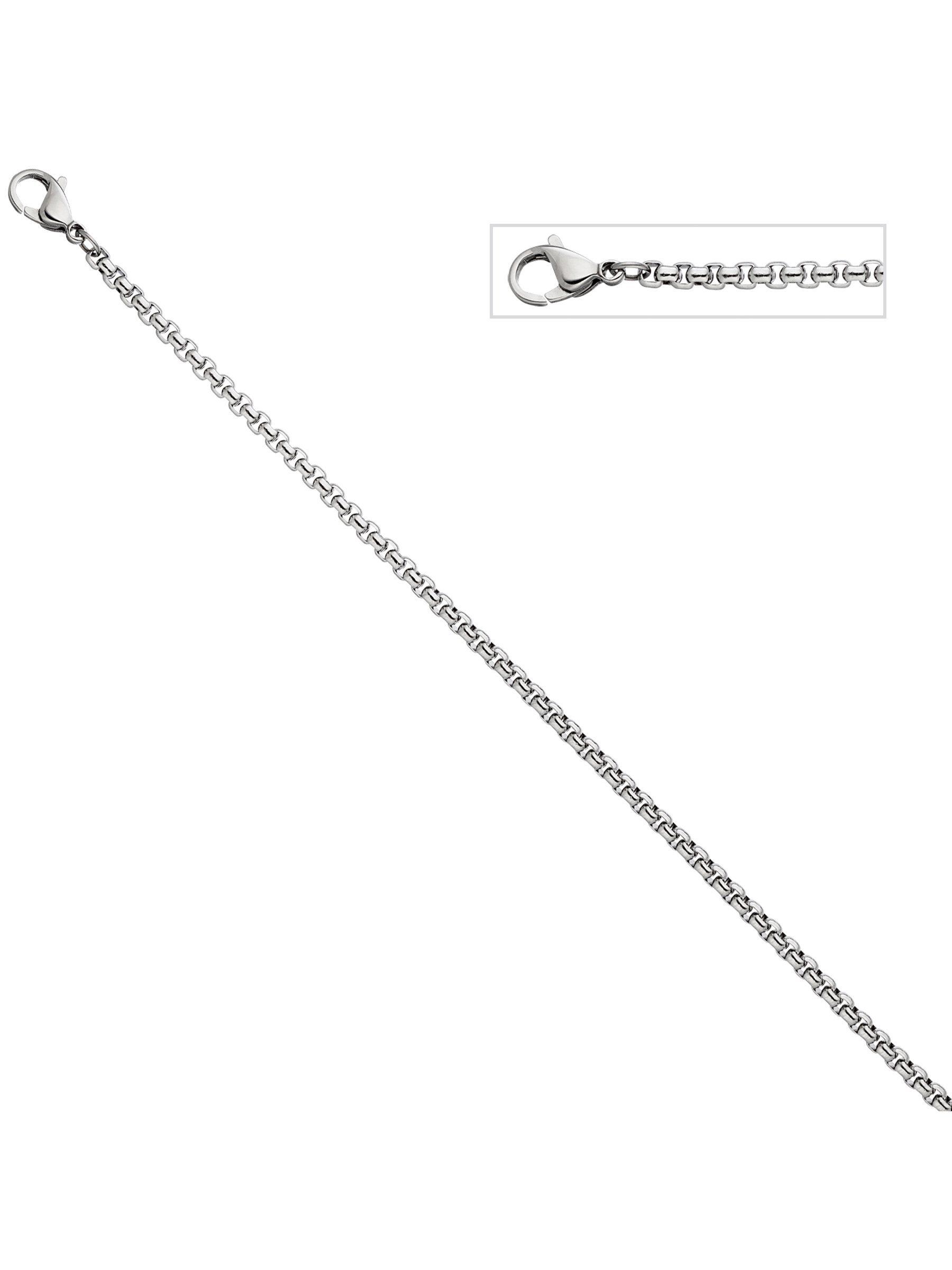 Adelia´s Kette ohne Anhänger »Venezianierkette« Edelstahl L - 45 cm