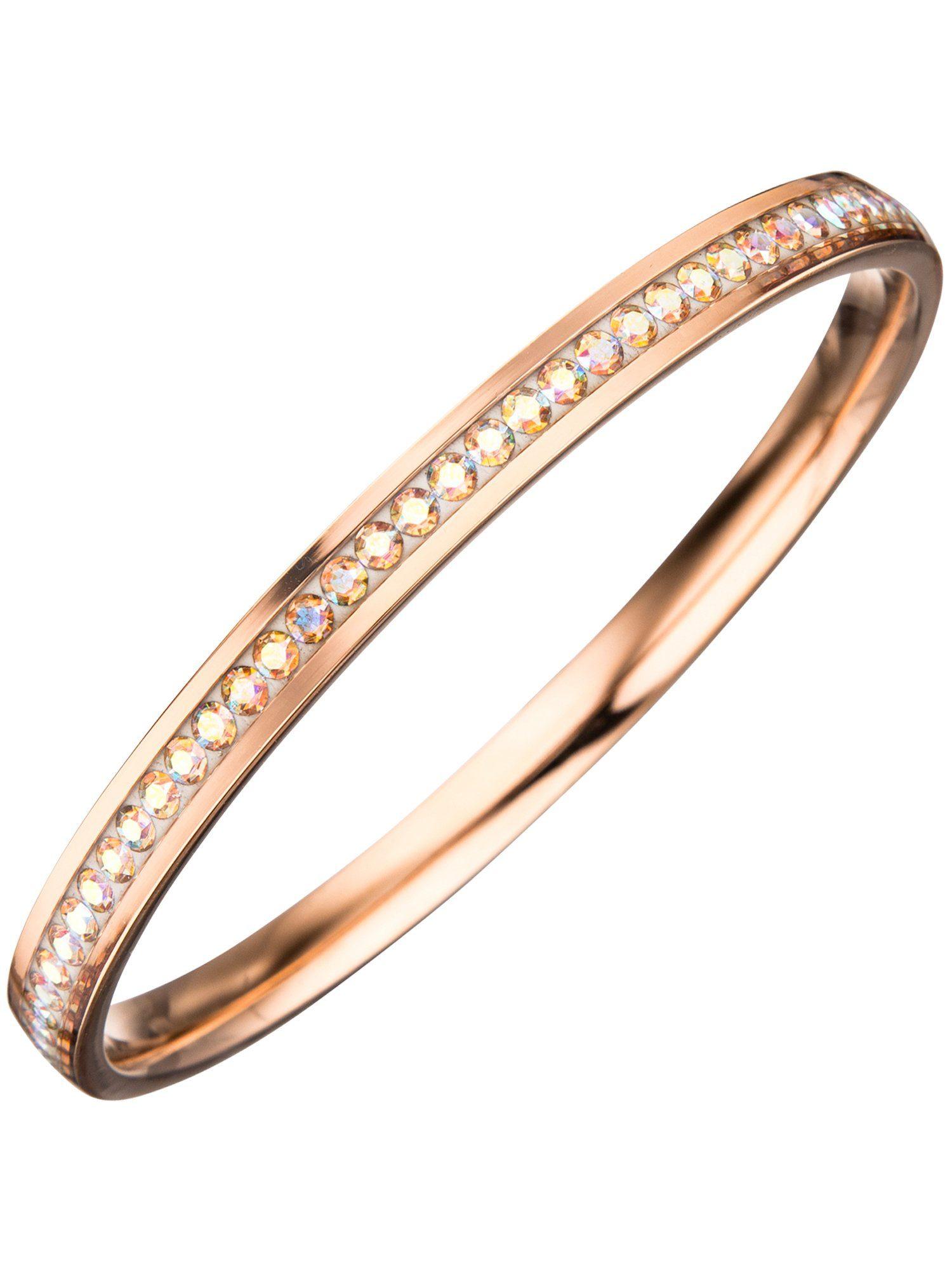 Adelia´s Armband, Edelstahl mit Swarovski Kristall Ø 71,50 mm