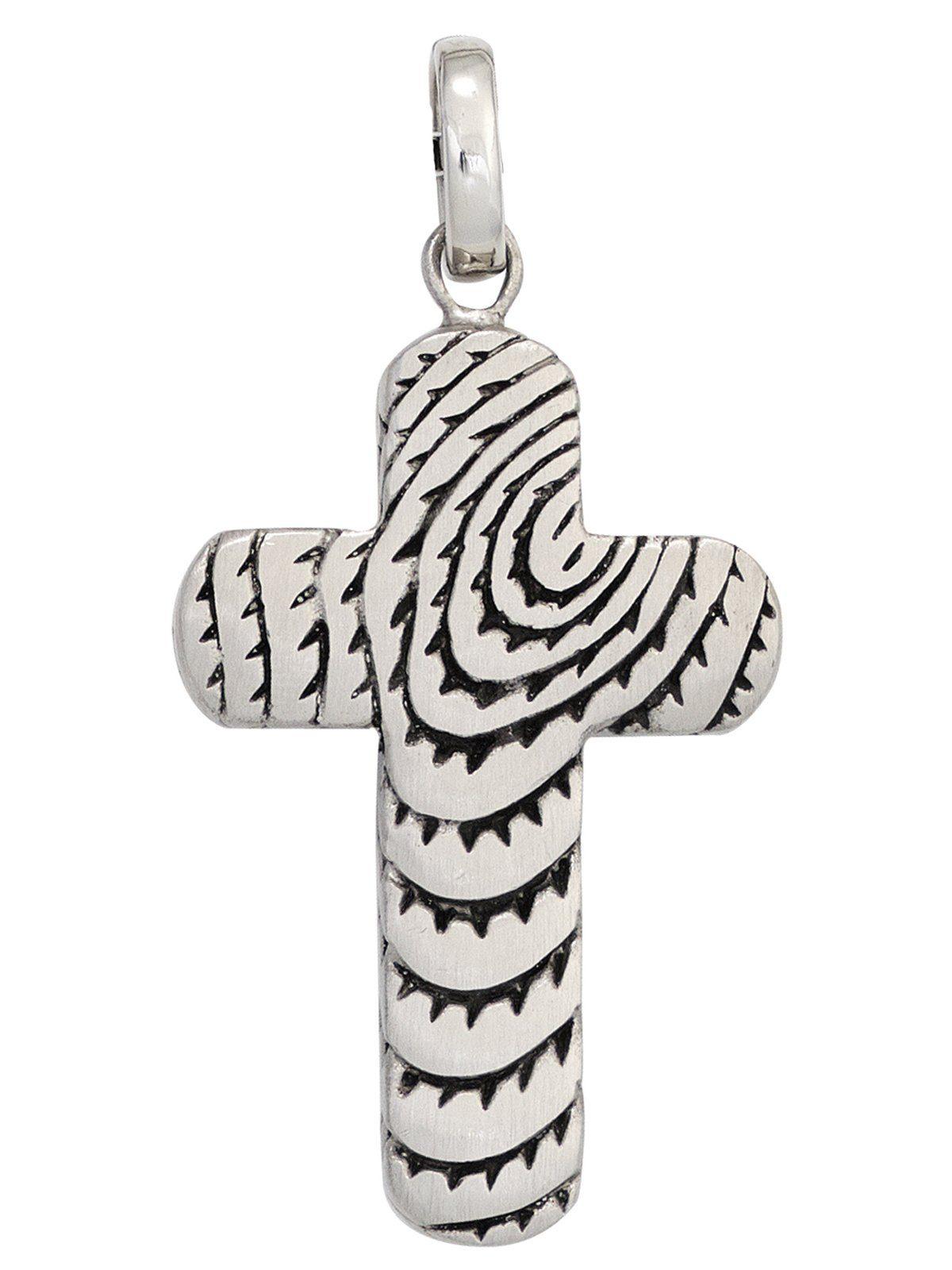 Adelia´s Kettenanhänger »Kreuz Anhänger« Edelstahl