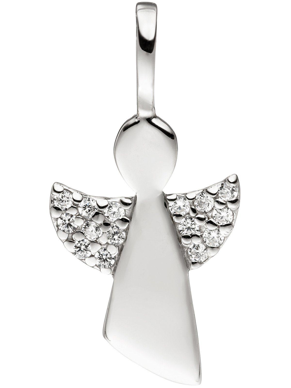 Adelia´s Kettenanhänger »Engel Anhänger«, 925 Silber mit Zirkonia