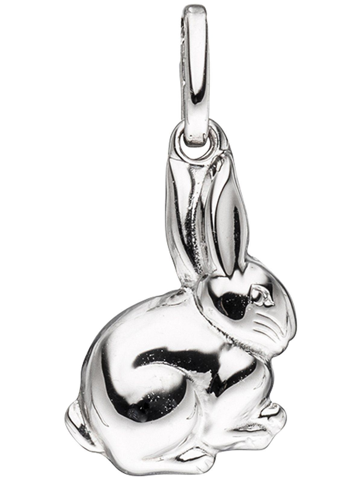 Adelia´s Kettenanhänger »Hase Anhänger« 925 Silber