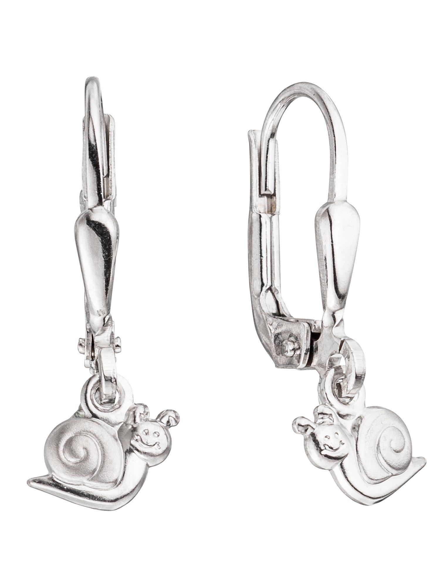Adelia´s Paar Ohrhänger »Schnecke« 925 Silber