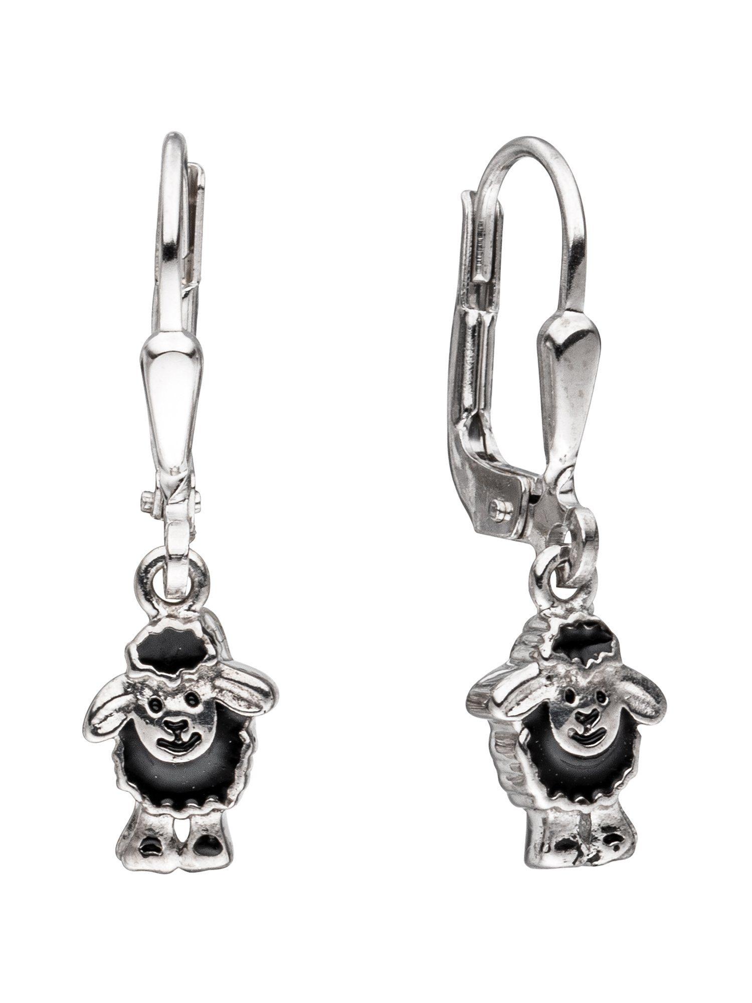 Adelia´s Paar Ohrhänger »Schaf« 925 Silber