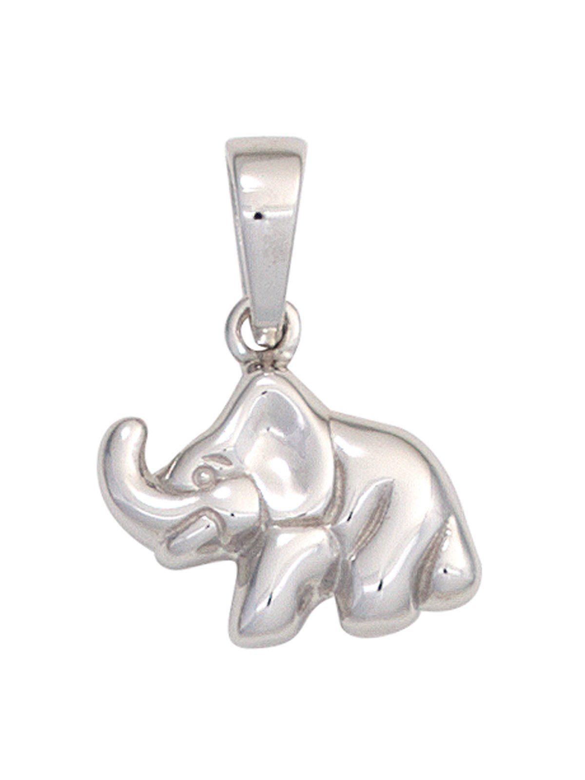 Adelia´s Kettenanhänger »Elefant Anhänger« 925 Silber