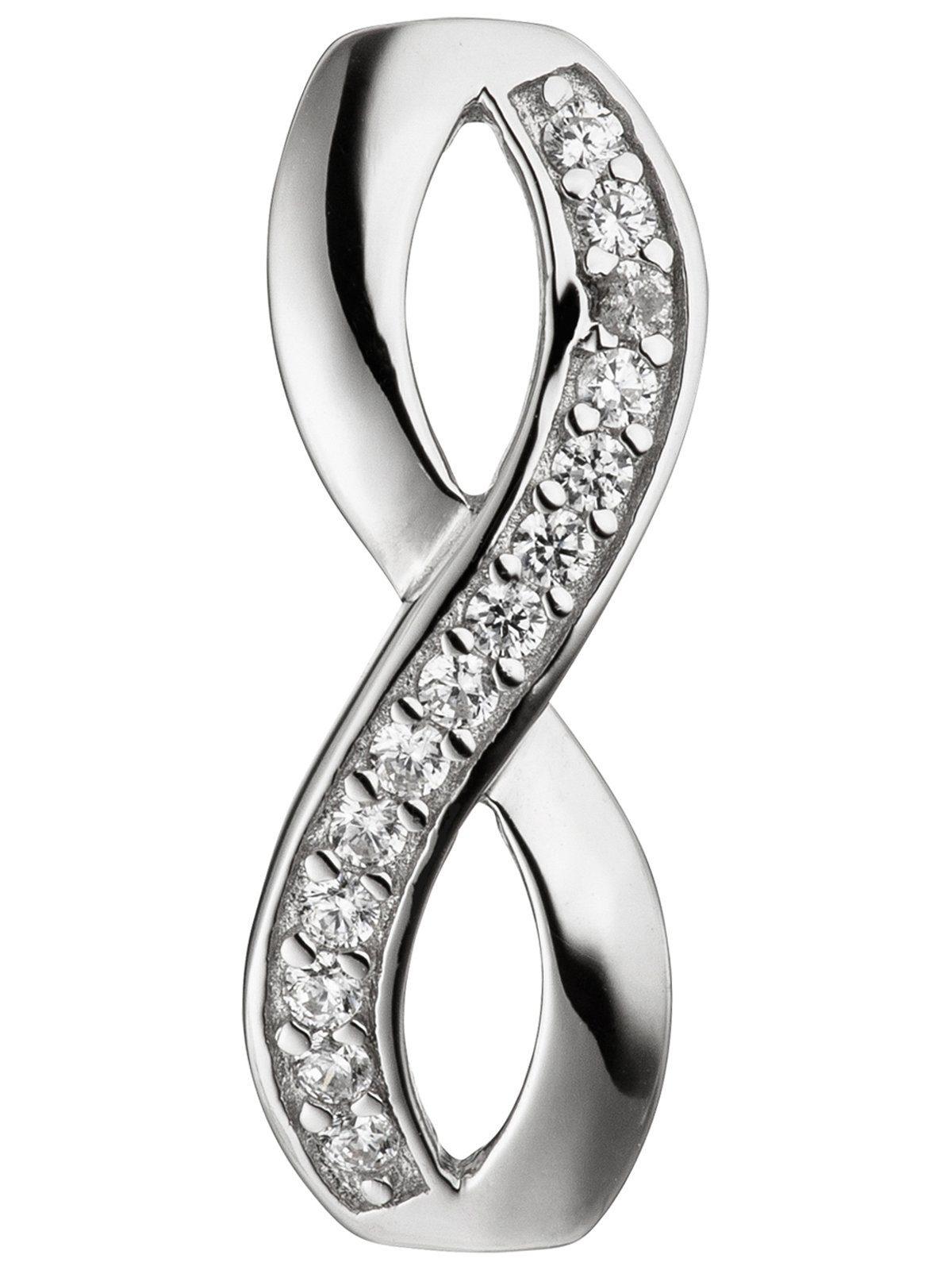 Adelia´s Kettenanhänger »Unendlich Anhänger« 925 Silber mit Zirkonia