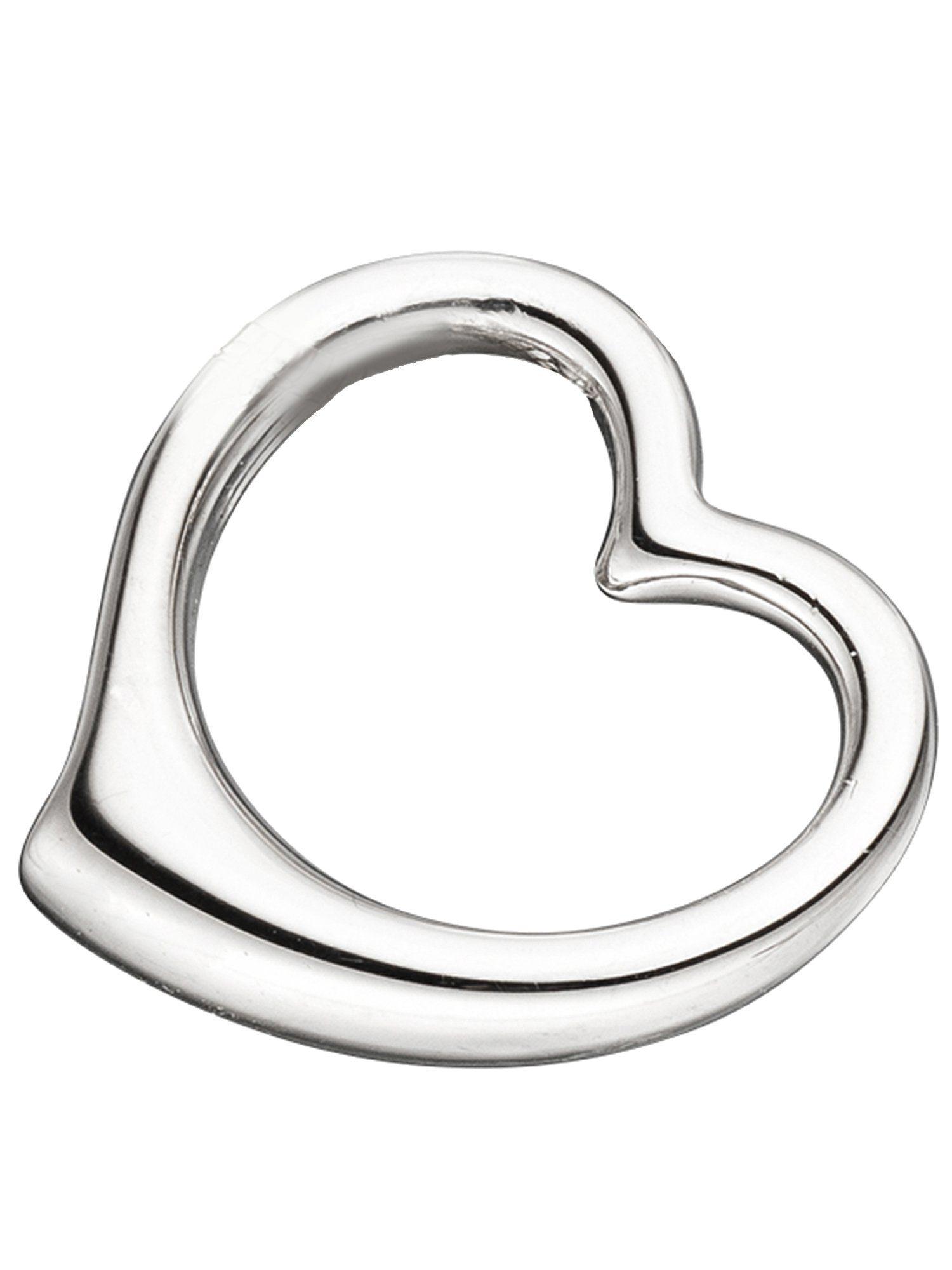 Adelia´s Kettenanhänger »Schwingherz Anhänger« 925 Silber