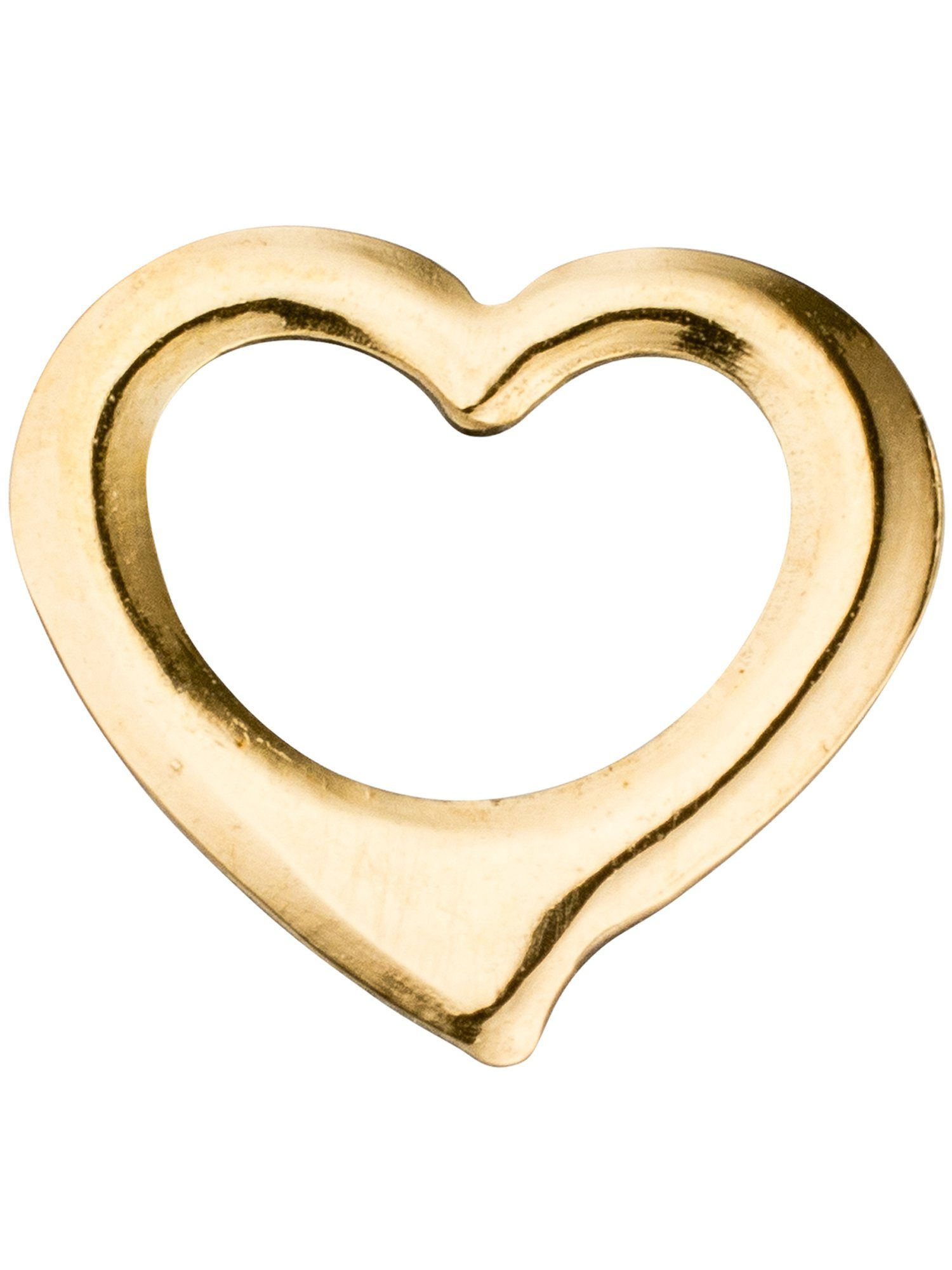 Adelia´s Kettenanhänger »Herz Anhänger« 585 Gold