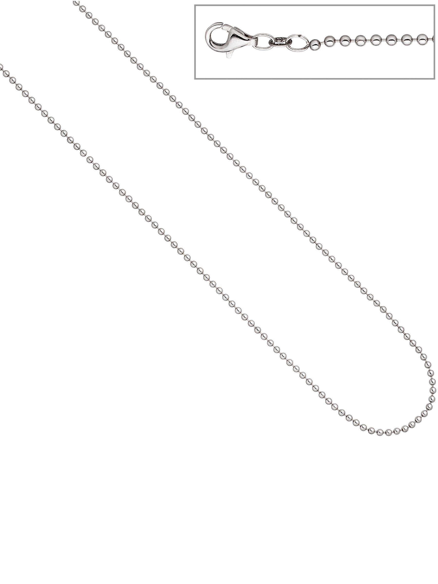 Adelia´s Kette ohne Anhänger »Kugelkette« 925 Silber L - 45 cm