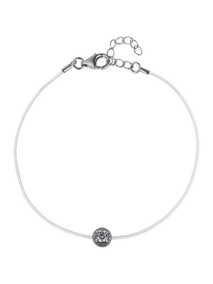 Adelia´s Armband 925 Silber mit Zirkonia L - 21 cm   Schmuck > Armbänder > Silberarmbänder   Adelia´s