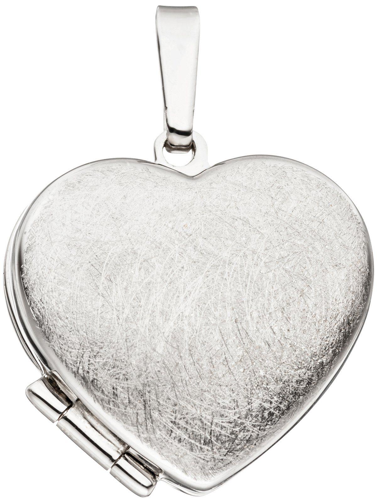Adelia´s Kettenanhänger »Medaillon Anhänger« 925 Silber